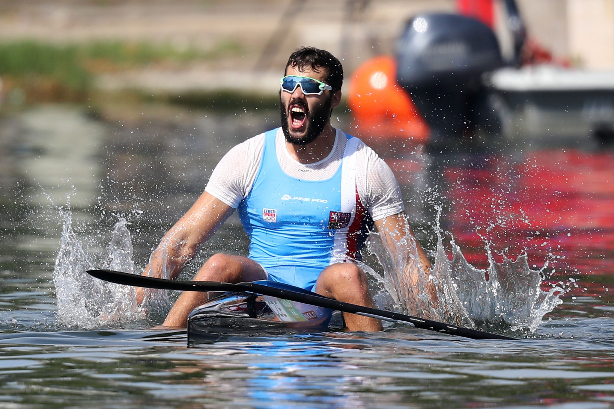 Three-time Olympic medallist Josef Dostal is into the final of the men's K1 1,000m ©Getty Images
