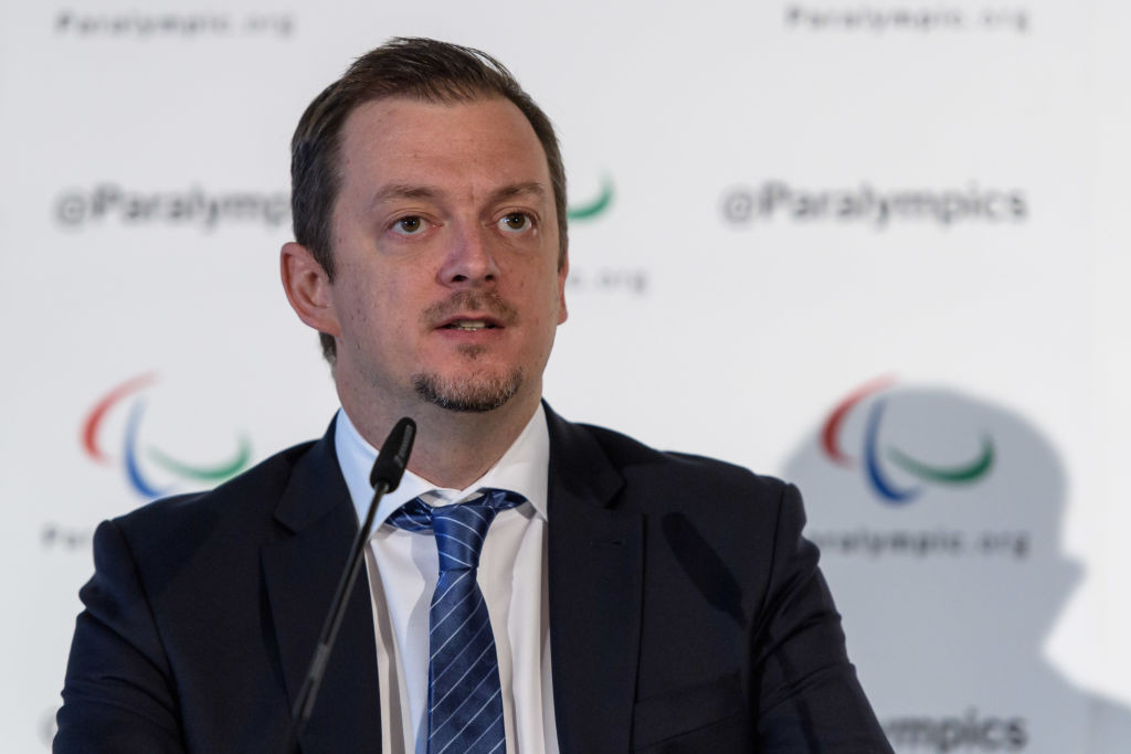 Speaking to mark the 100-days-to-go until the Tokyo Paralympics, IPC President Andrew Parsons said he believes this edition will be the most important in the event's history ©Getty Images