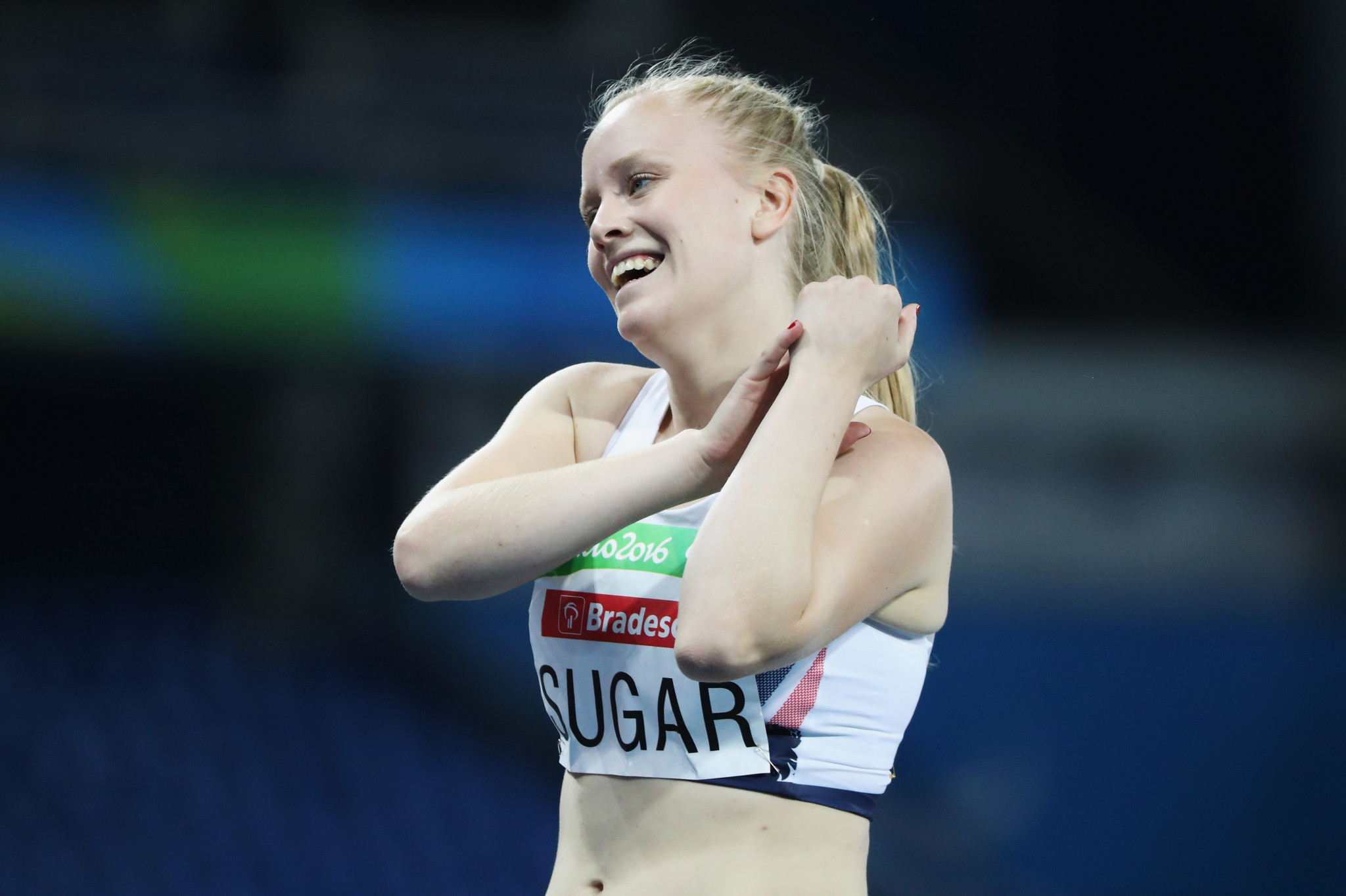Laura Sugar represented Britain in athletics at the Rio 2016 Paralympics ©Getty Images