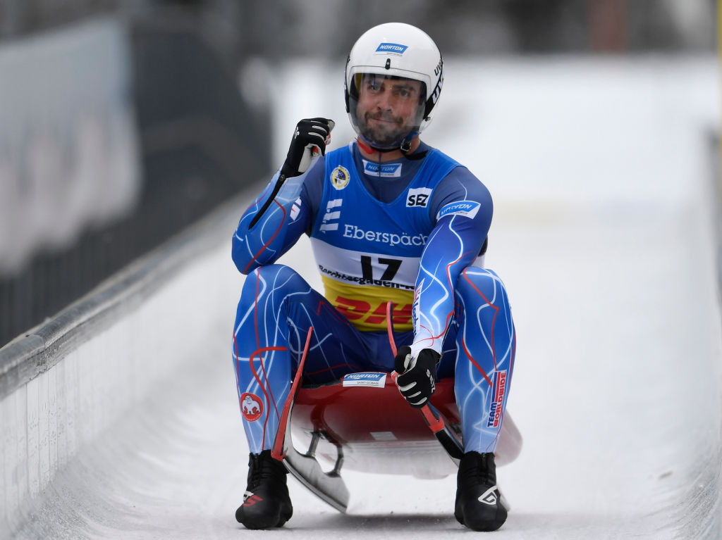 Olympic silver medallist Chris Mazdzer is among the athletes chosen by USA Luge for the 2021-2022 season ©Getty Images
