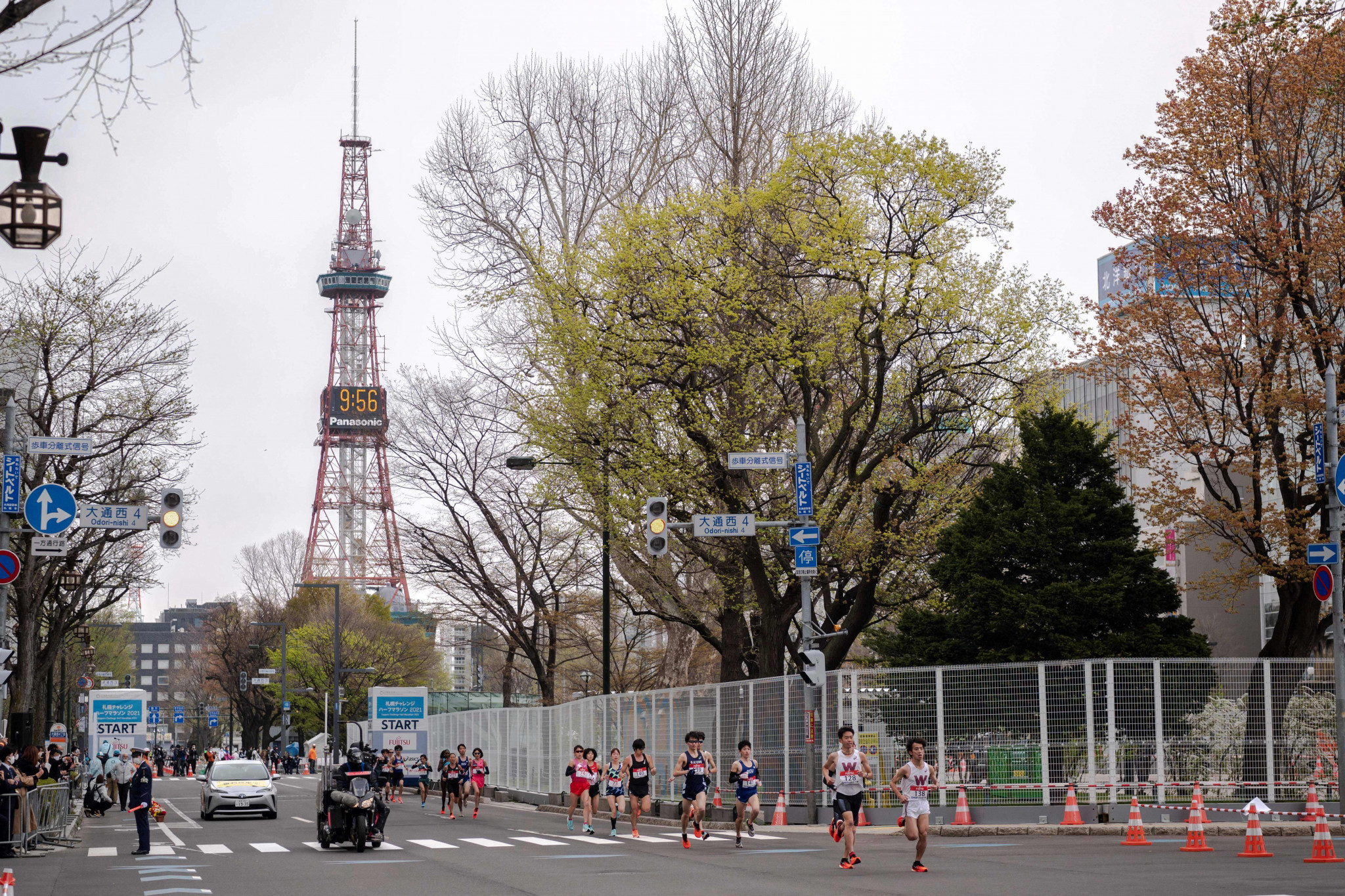 Sapporo is due to host the Olympic race walk and marathon events ©Getty Images