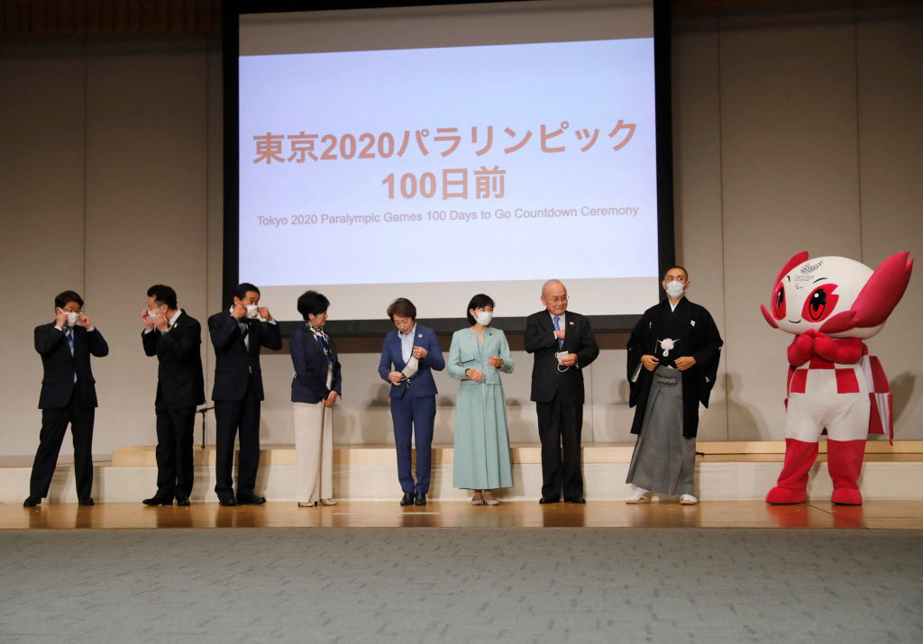 Today marks 100 days to go until the opening of the Tokyo 2020 Paralympic Games ©Getty Images