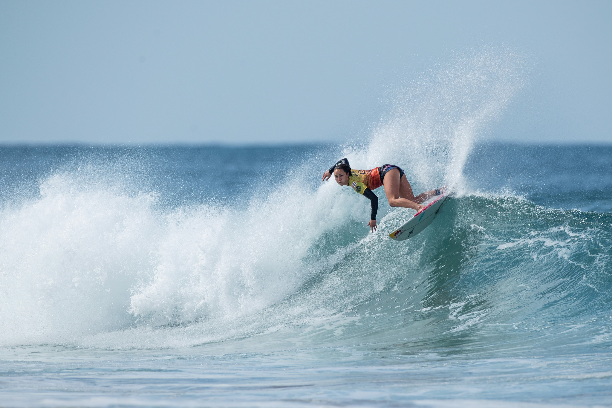 Moore advances on opening day of World Surf League event in Rottnest Island