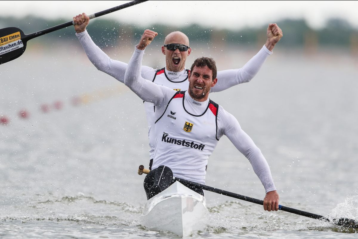 Victory in the C2 1,000m final at the Canoe Sprint World Cup in Szeged secured a third Olympic appearance for three-time gold medallist Sebastian Brendel and his partner Tim Hecker ©ICF