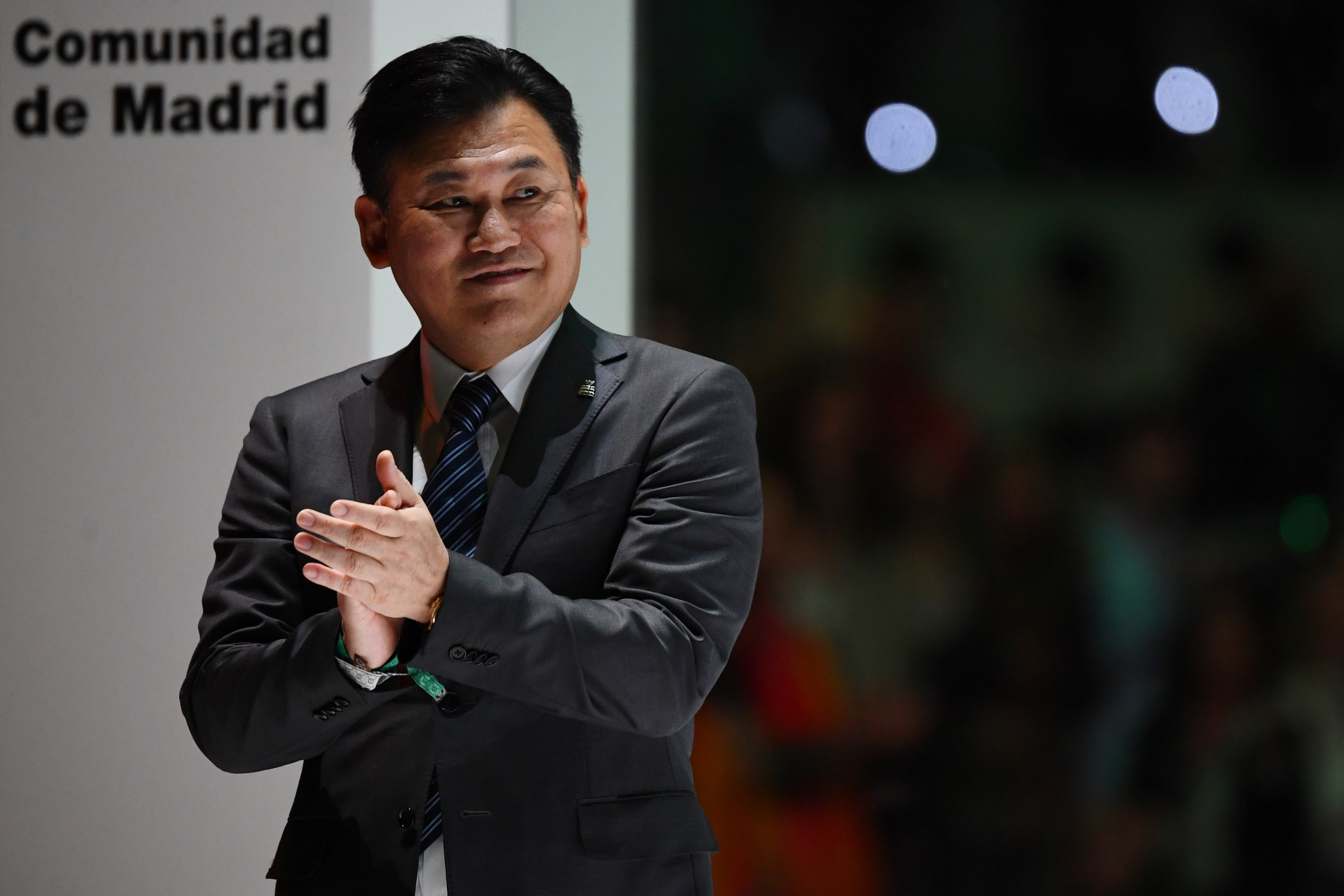 """Hiroshi Mikitani, founder and chief executive of Rakuten, claims the """"risk is too big"""" to host the Games ©Getty Images"""