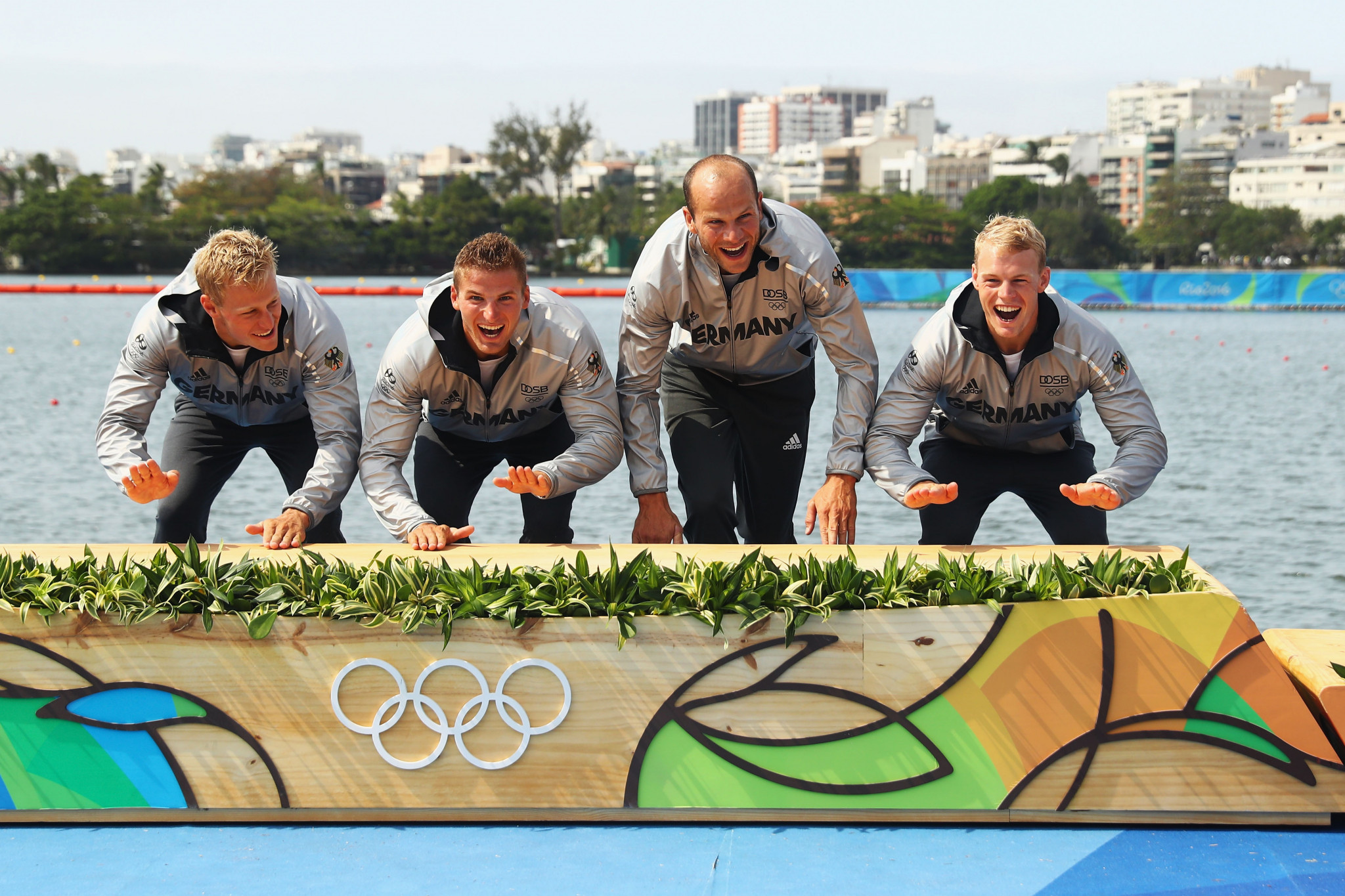 Men's K4 500m was not on the Rio 2016 programme, but Germany did win men's K4 1,000m gold ©Getty Images