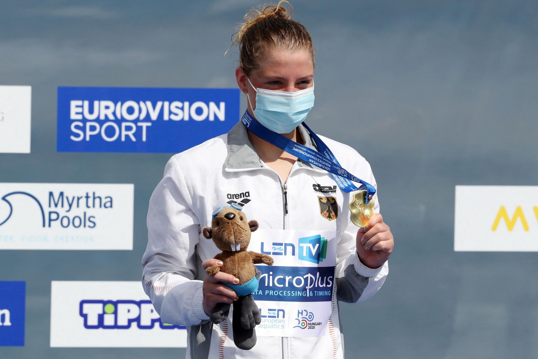 Lea Boy was dominant in winner the women's 25km race ©Getty Images