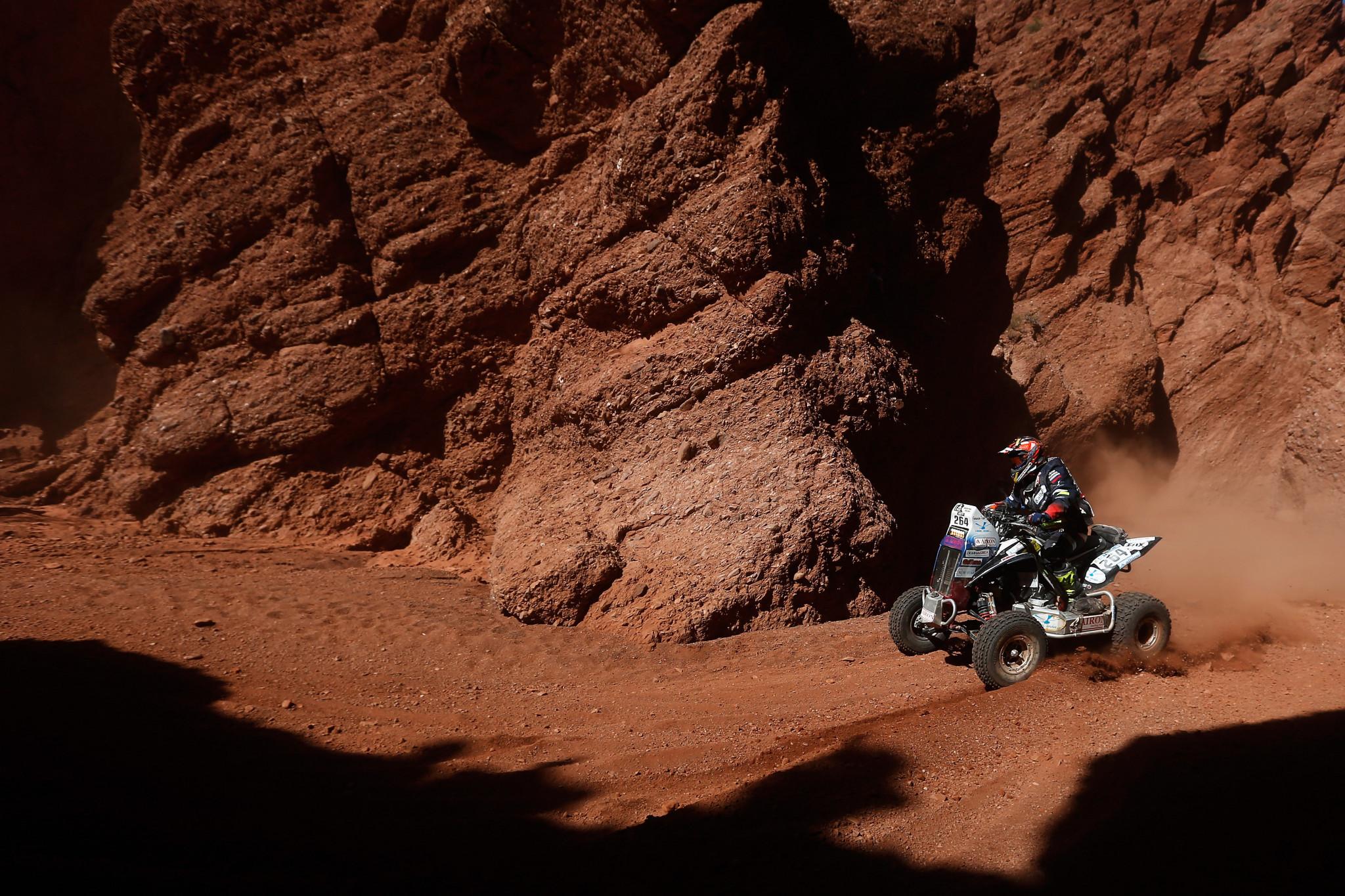 Sergei Karyakin won the Dakar Rally for quad bikes in 2017 ©Getty Images