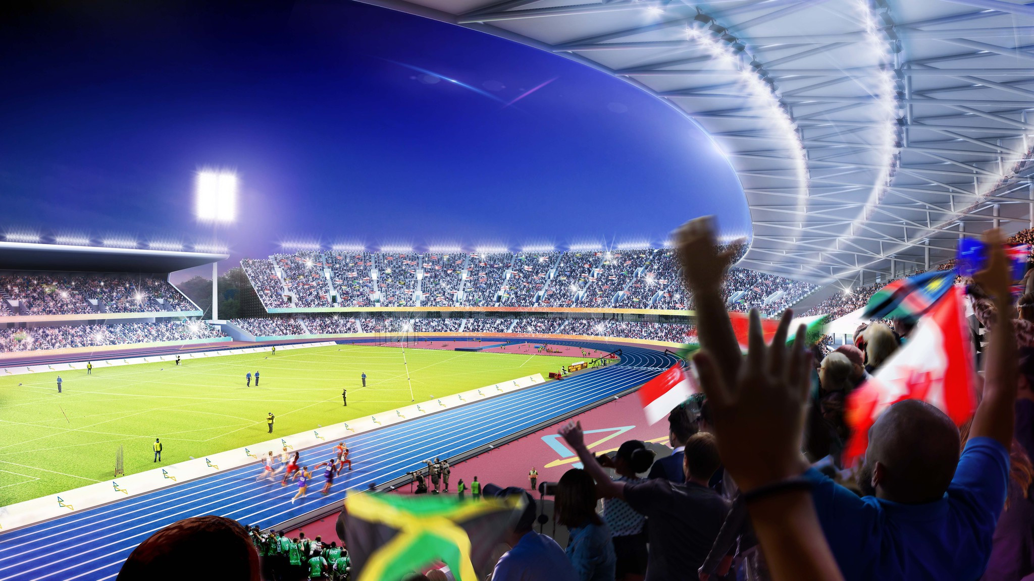 Venues such as Alexander Stadium will be well placed to hold top class sport once Birmingham 2022 has finished ©Birmingham City Council