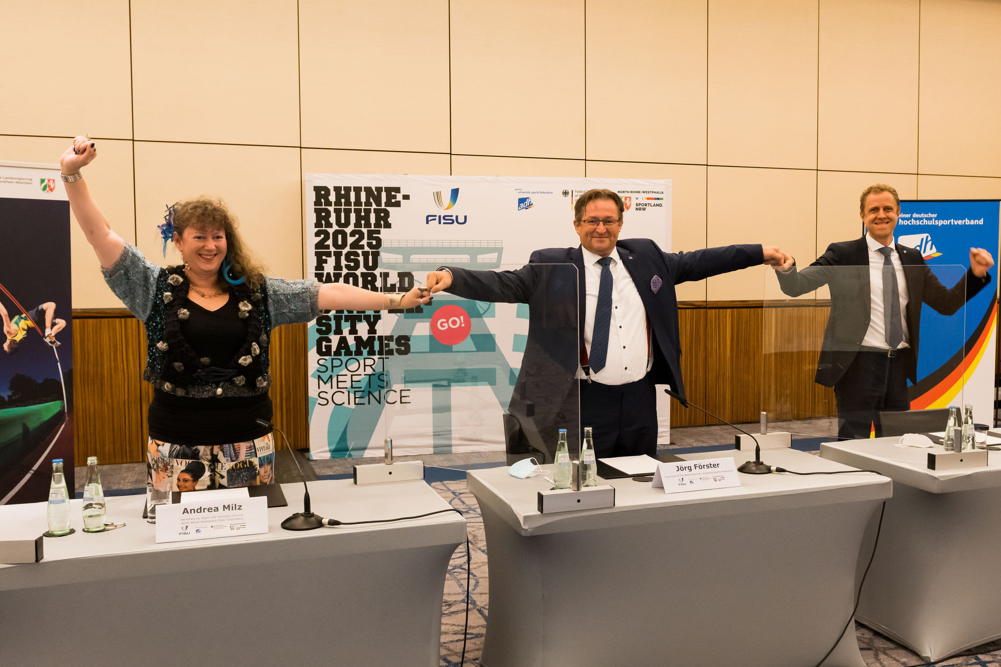 The 2025 Summer World University Games will be held in Rhine-Ruhr, Germany ©FISU