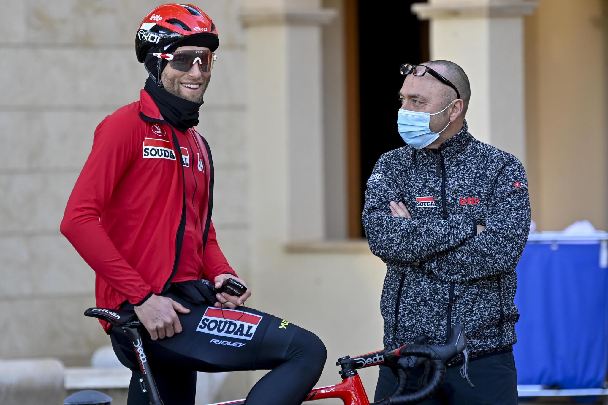Marczyński withdrawn from Giro d'Italia after suffering long COVID symptoms