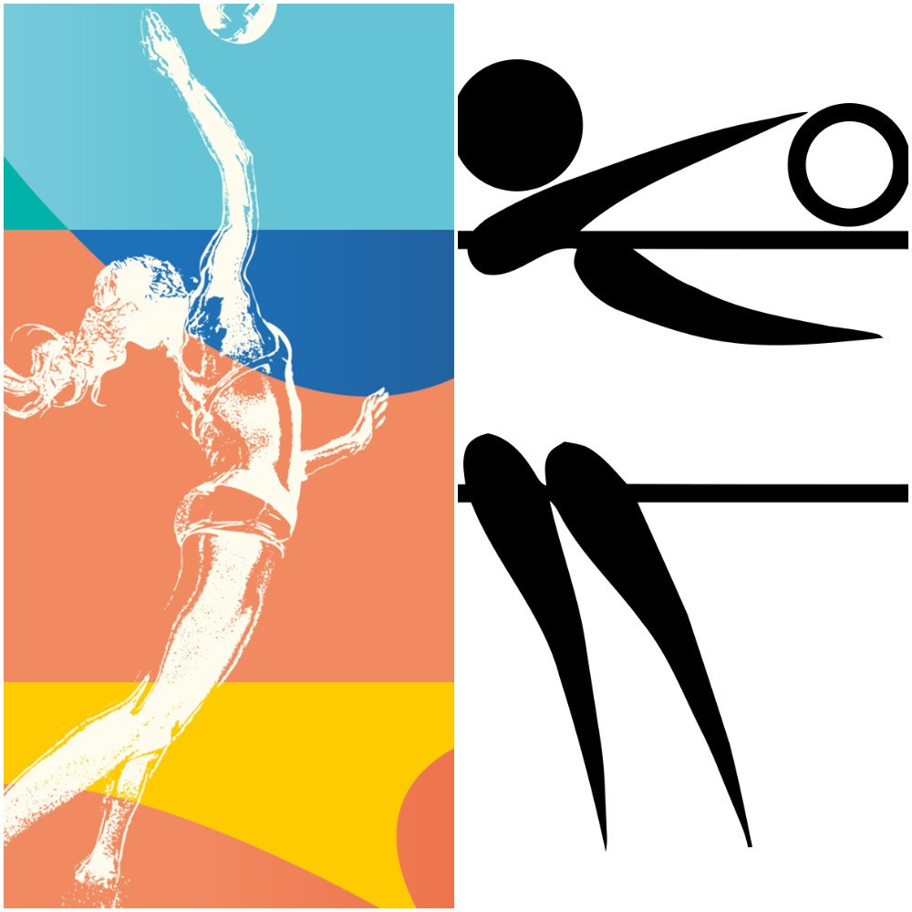 The new motif for the 2022 European Championships has been inspired by legendary German graphic designer Otl Aicher, who produced the pictograms for the 1972 Olympic Games in Munich ©Munich 2022 and IOC