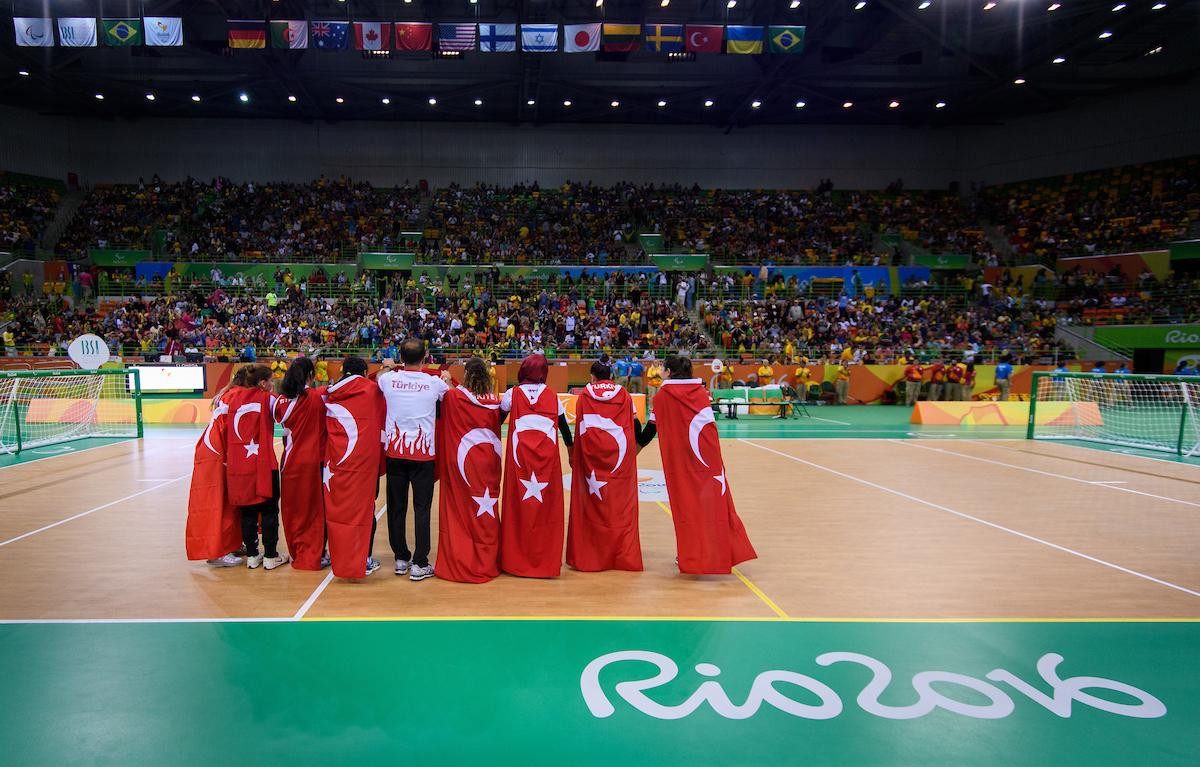 Turkey will begin the defence of their Paralympic Games women's goalball title at Tokyo 2020 with a match against hosts Japan on August 25 ©Getty Images