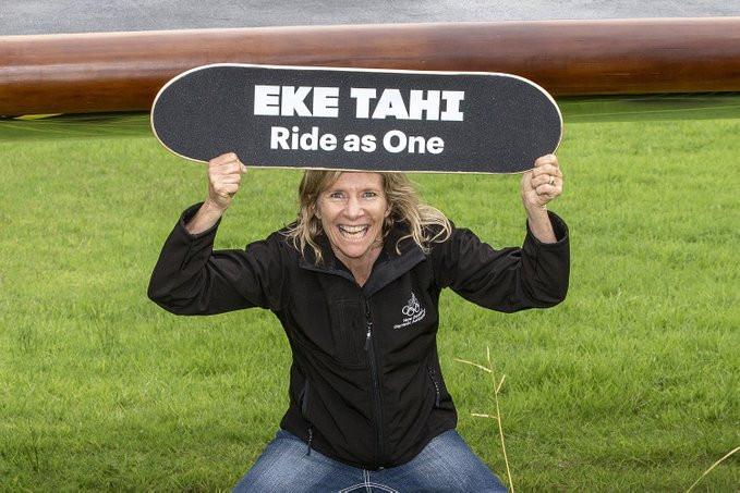 """Eke Tahi"" skateboard campaign gets rolling on 41-day Olympic roadshow"