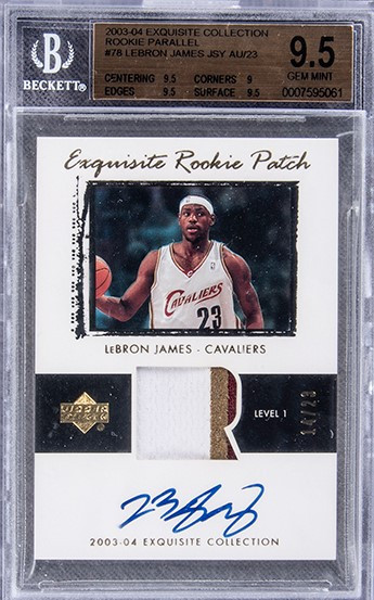 LeBron James card sells for record $5.2 million