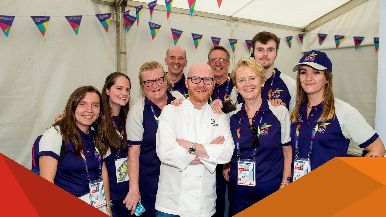 European Championships Munich 2022 inviting volunteer applications