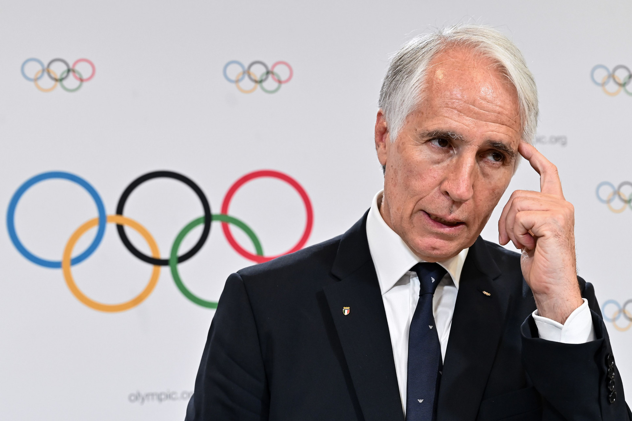 Milan Cortina 2026 President Giovanni Malagò has said unanimity for the speed skating venue to change ©Getty Images