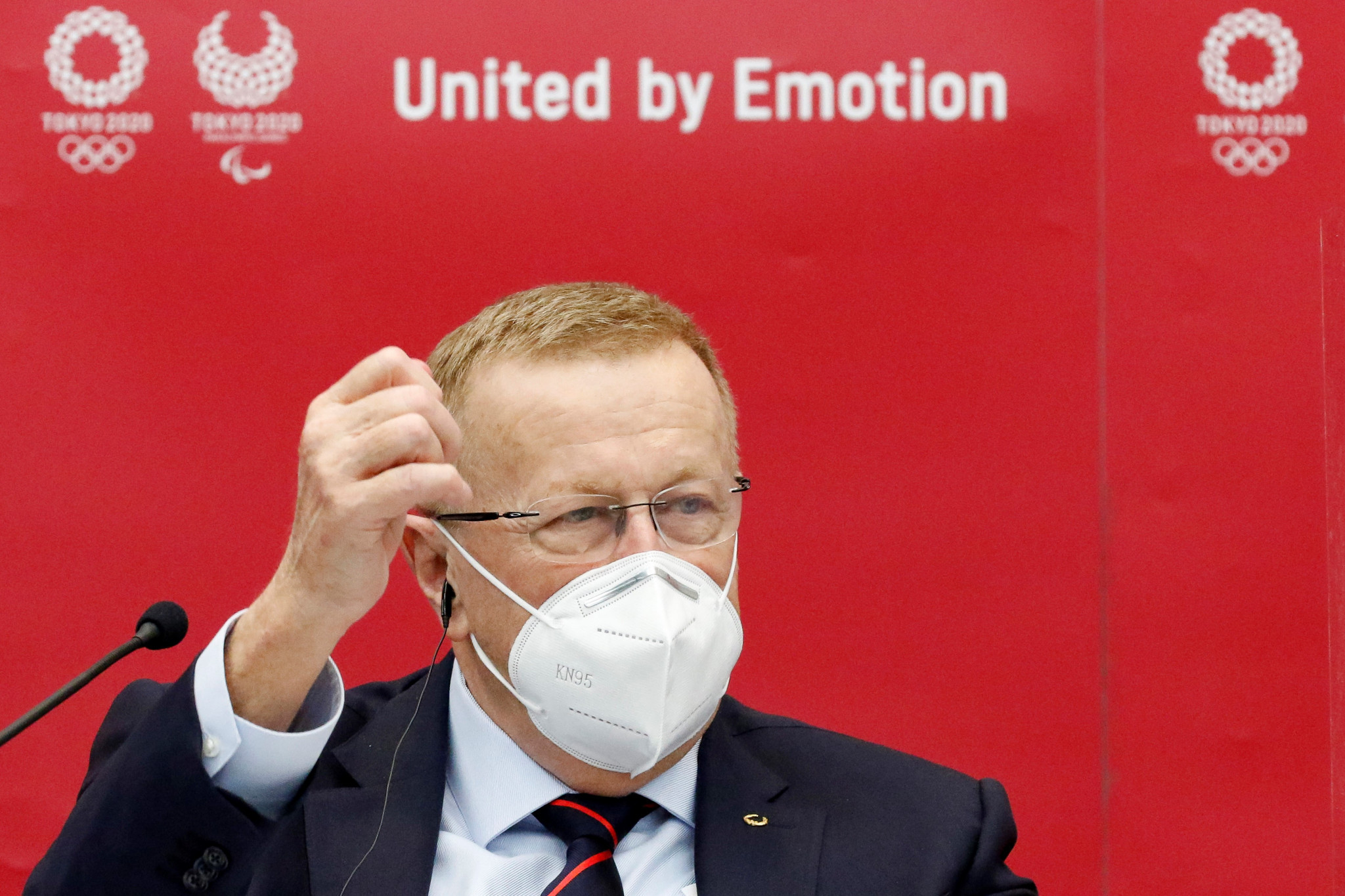 John Coates will chair the Coordination Commission remotely ©Getty Images