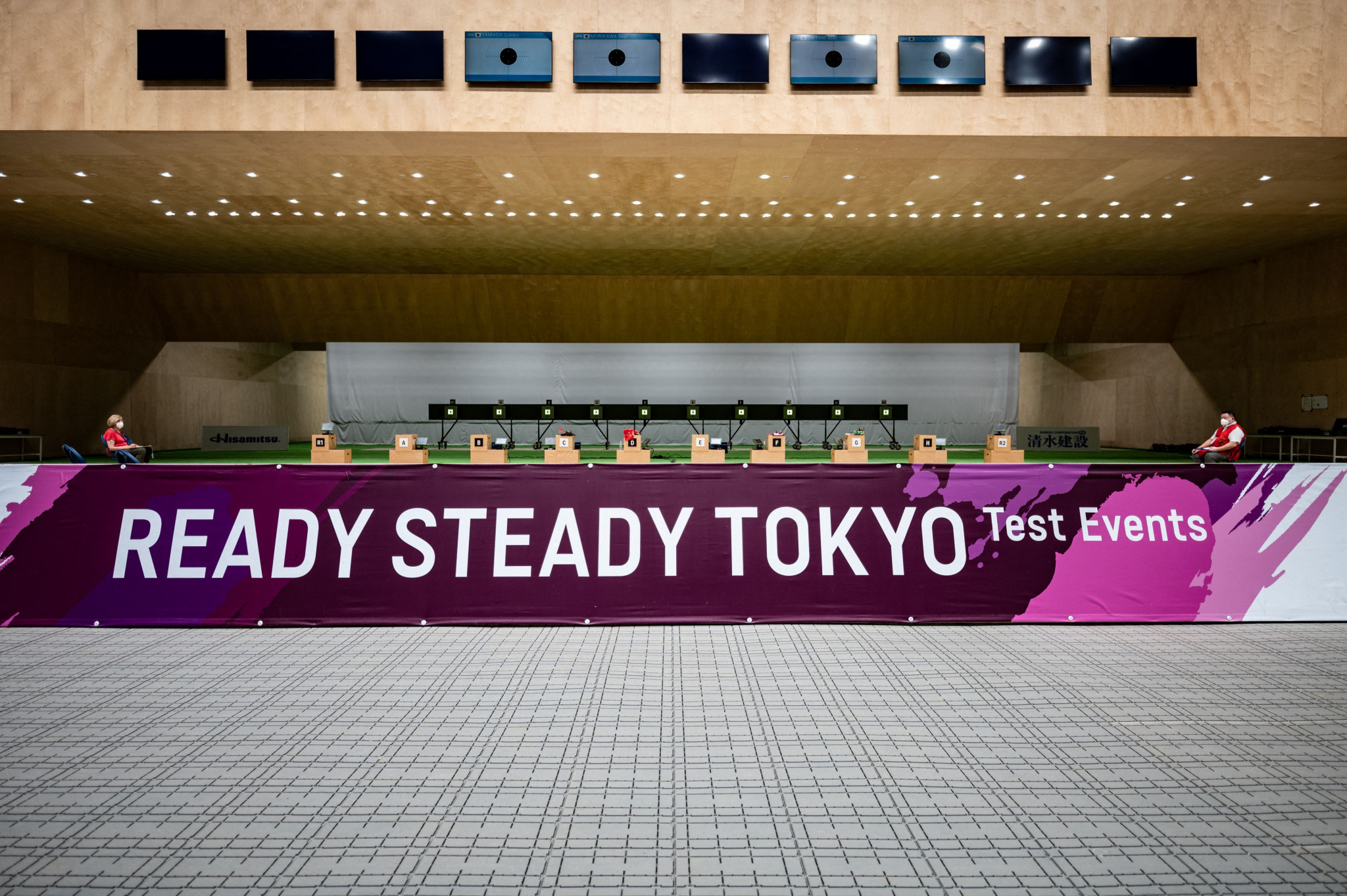 Tokyo 2020 has highlighted the success of test events to show the Games can be held safely ©Getty Images