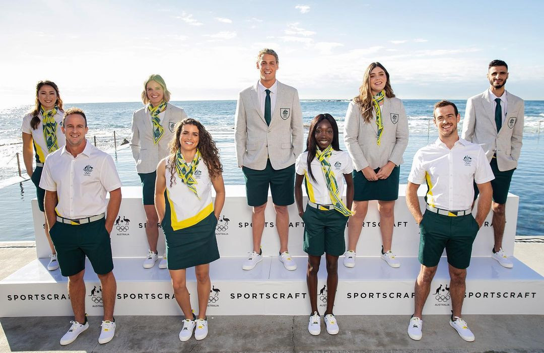Australia's uniforms for the Opening Ceremony at Tokyo 2020 have been revealed ©AOC