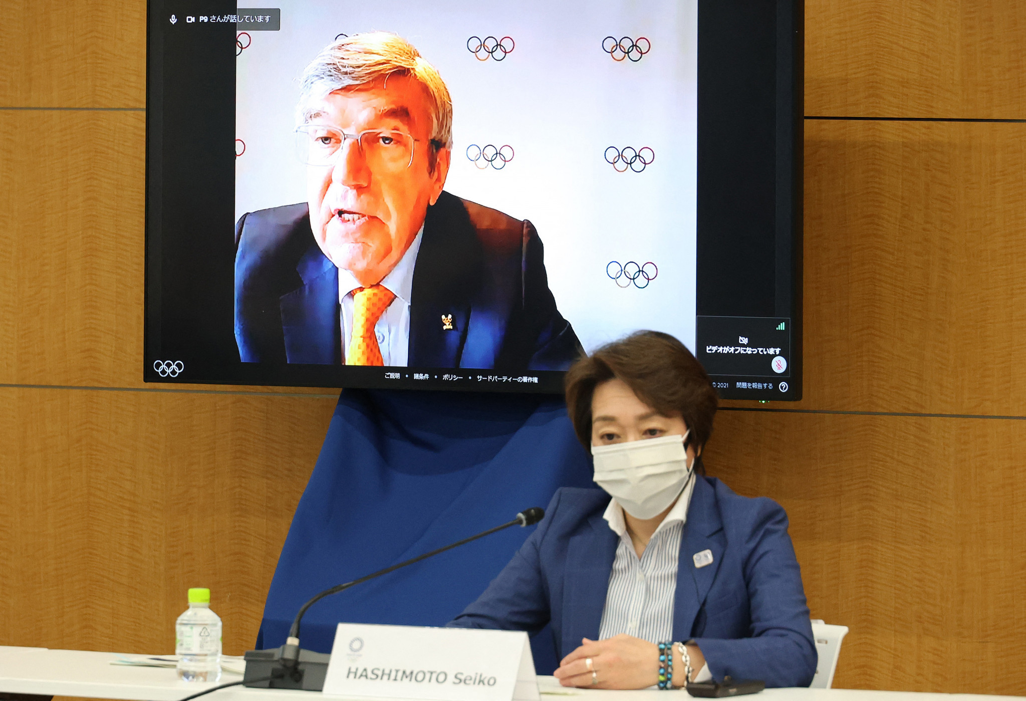 IOC President Thomas Bach has tried to appease the Japanese public as the Coordination Commission opened ©Getty Images