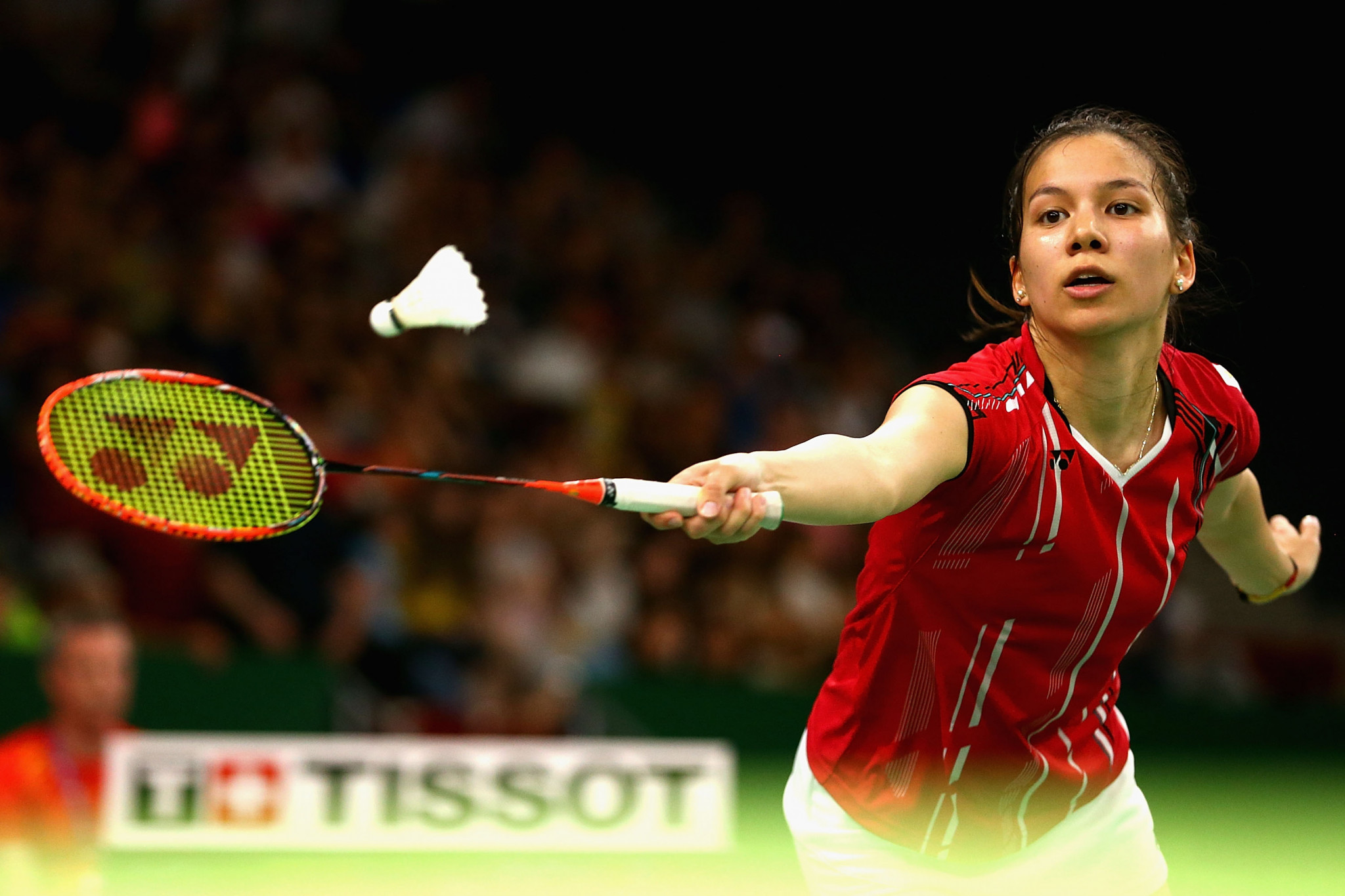 Lianne Tan is through in the women's singles ©Getty Images
