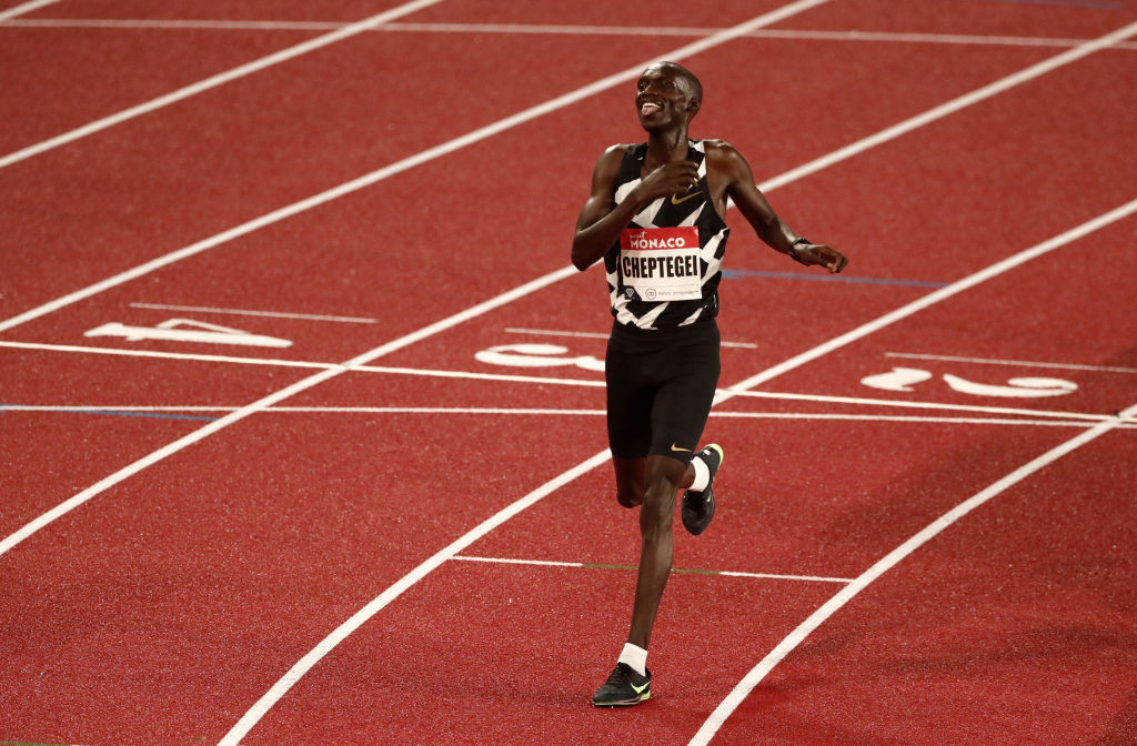 Cheptegei contributes one of five 2021 world bests on chilly night in Ostrava