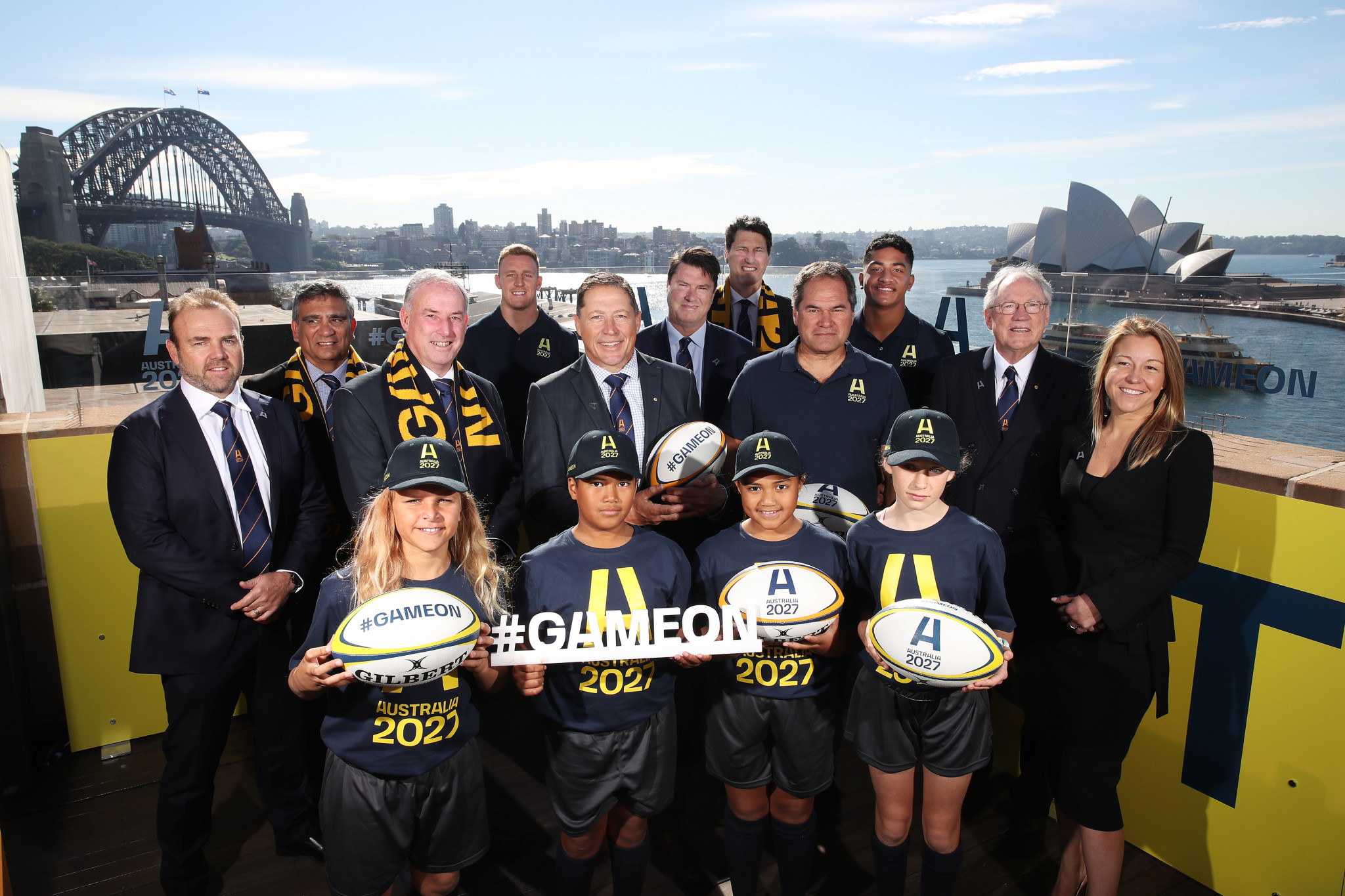Australia officially launches bid to stage 2027 Rugby World Cup