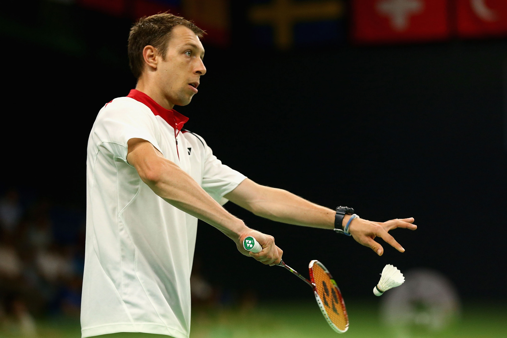 Misha Zilberman is through in the men's singles at the BWF Spain Masters ©Getty Images