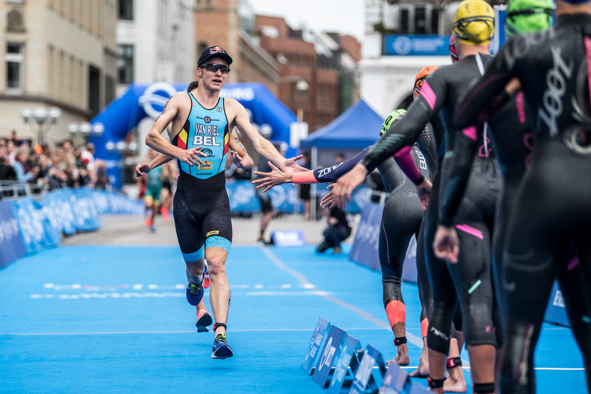 Marten van Riel will be hoping to secure Belgium a place in the mixed relay event at Tokyo 2020 ©Getty Images