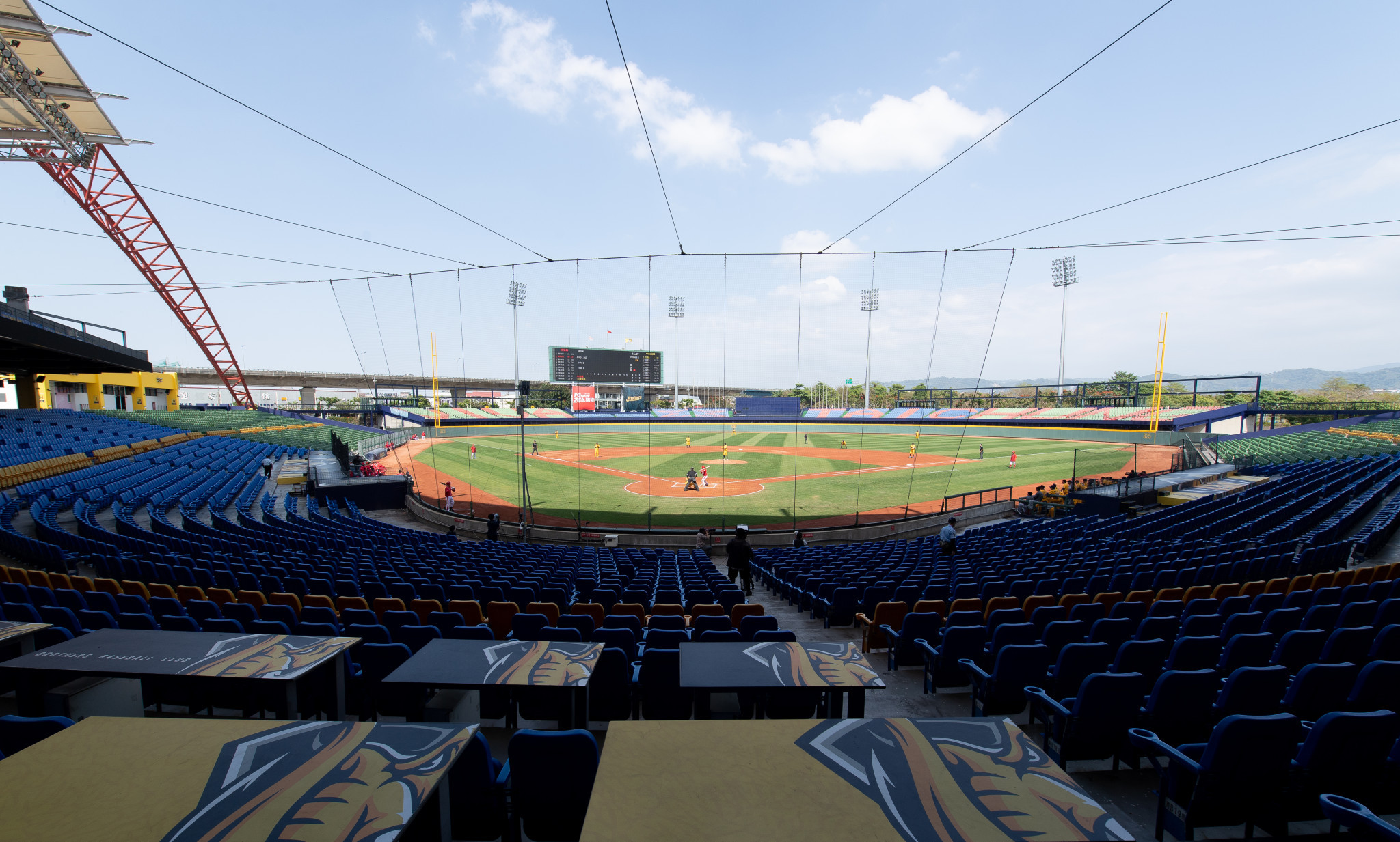 The final qualifier has been moved from Taiwan's Taichung Intercontinental Baseball Stadium ©Getty Images