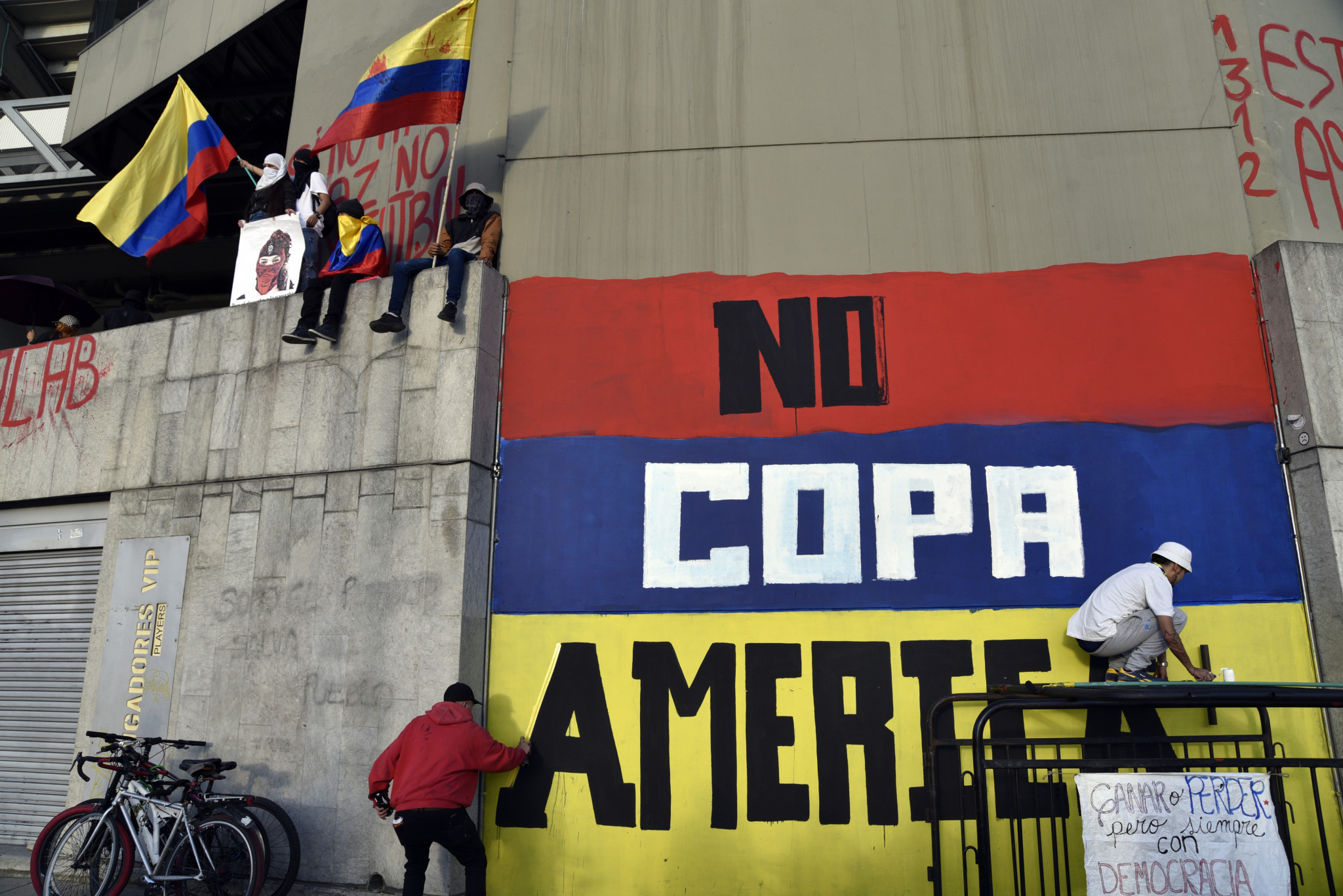 Colombia removed as co-host of rescheduled Copa América amid mass protests