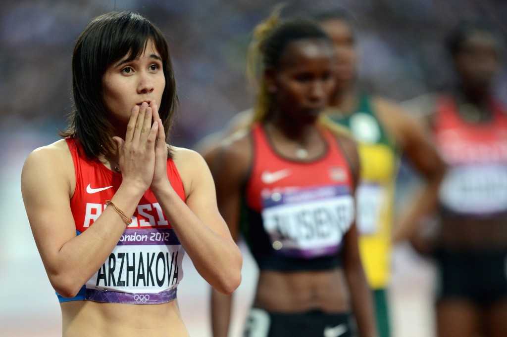 Yelena Arzhakova, the original European Championship 800m gold medallist, was banned the following year ©Getty Images