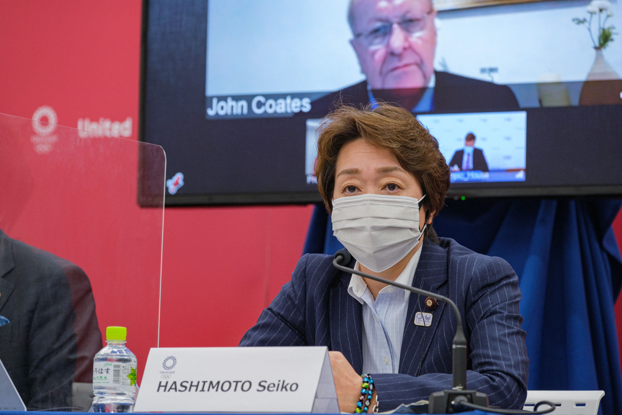 Tokyo 2020 President Seiko Hashimoto said visitors from abroad had been cut dramatically ©Getty Images
