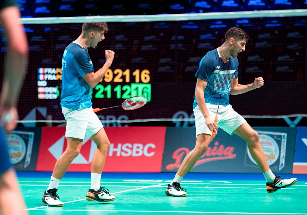 France's Christo and Toma Junior Popov were among the quarter-final winners today at the BWF Spanish Masters ©Getty Images