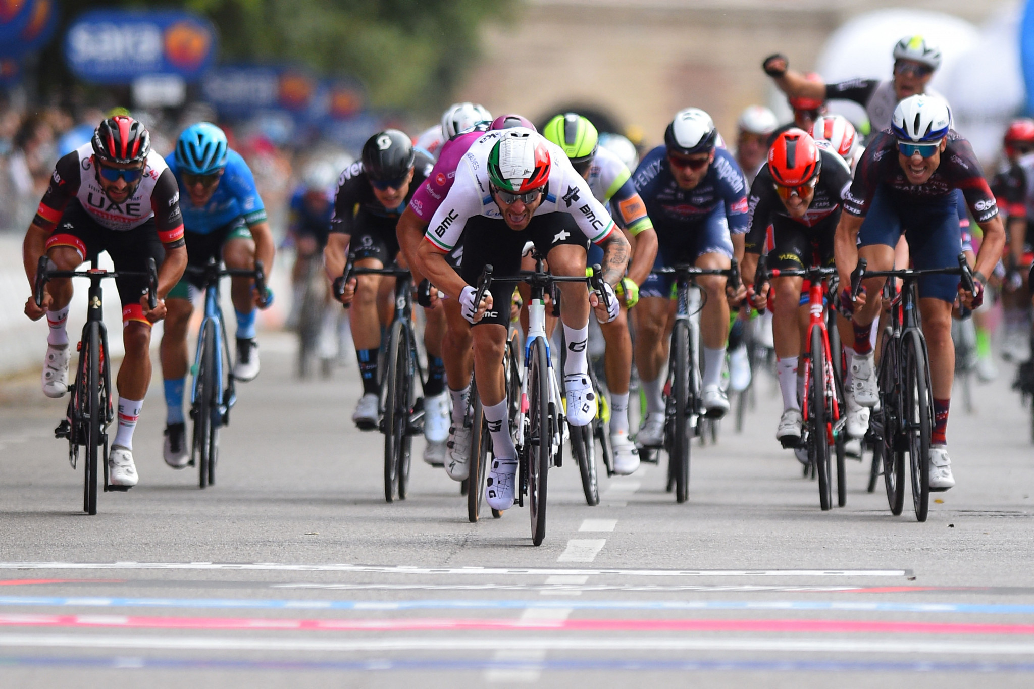 Nizzolo ends wait for victory at Giro d'Italia with stage 13 success