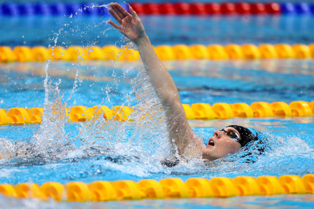 Britain's Kathleen Dawson had to win the European 100m backstroke title twice in Budapest tonight after the race had to be re-run because of a starting malfunction ©Getty Images