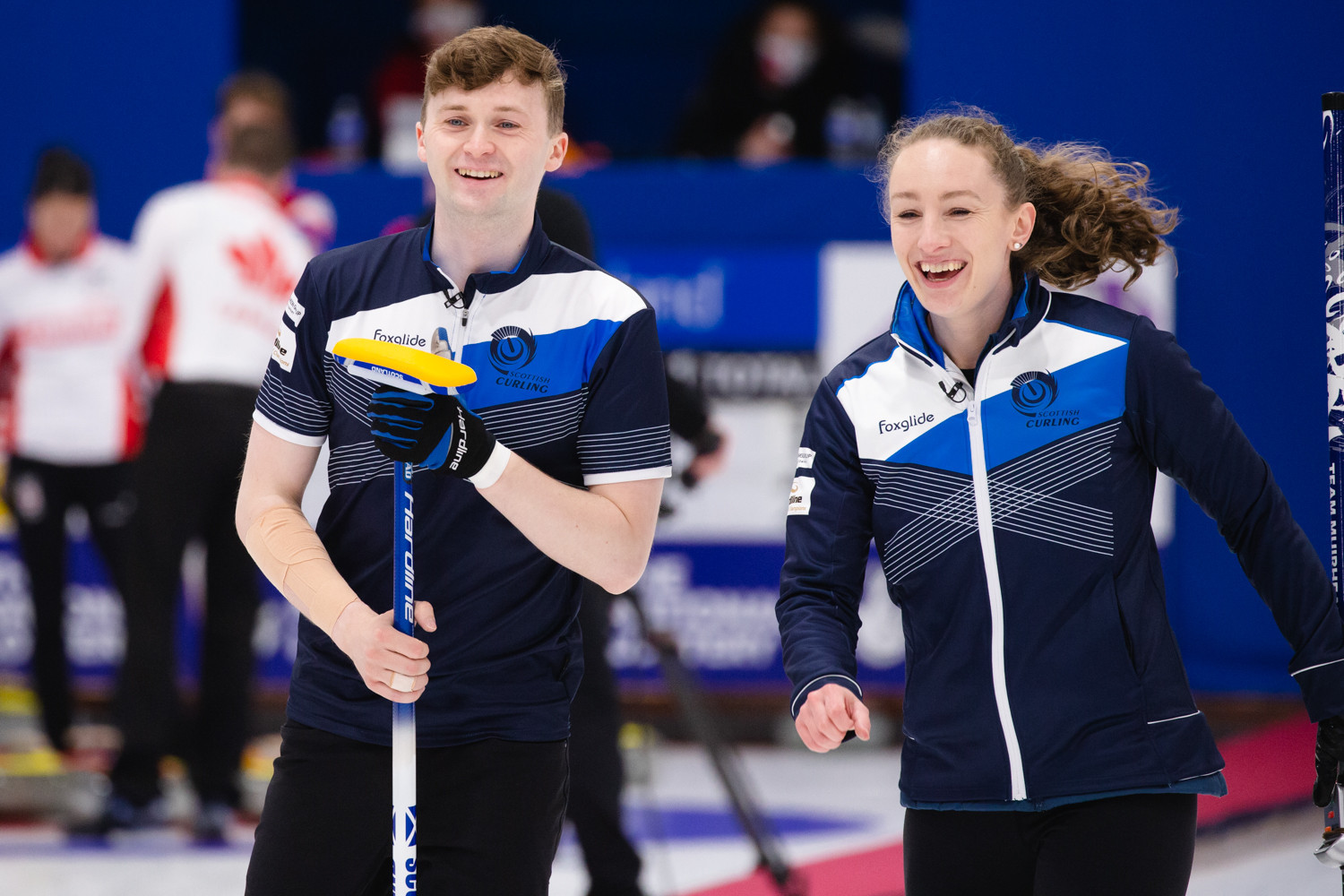 Scotland and Sweden secure automatic semi-final places at World Mixed Doubles Curling Championship