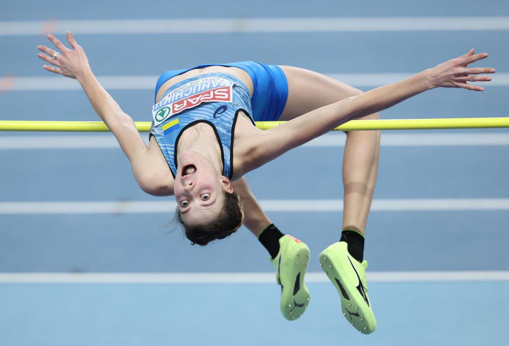Ukraine's Yaroslava Mahuchikh will seek to end the 14-meeting winning run of reigning three-time high jump world champion Mariya Lasitskene of Russia in tomorrow's first Diamond League meeting of the season ©Getty Images