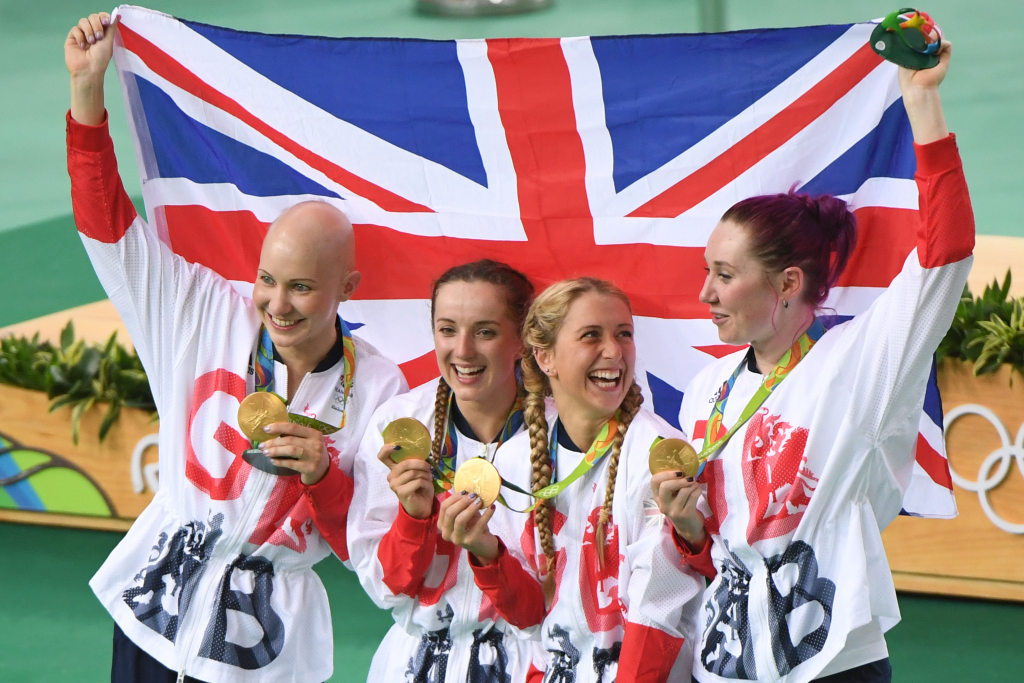 British finished in the top three in the Olympic medal table at London 2012 and Rio 2016 ©Getty Images