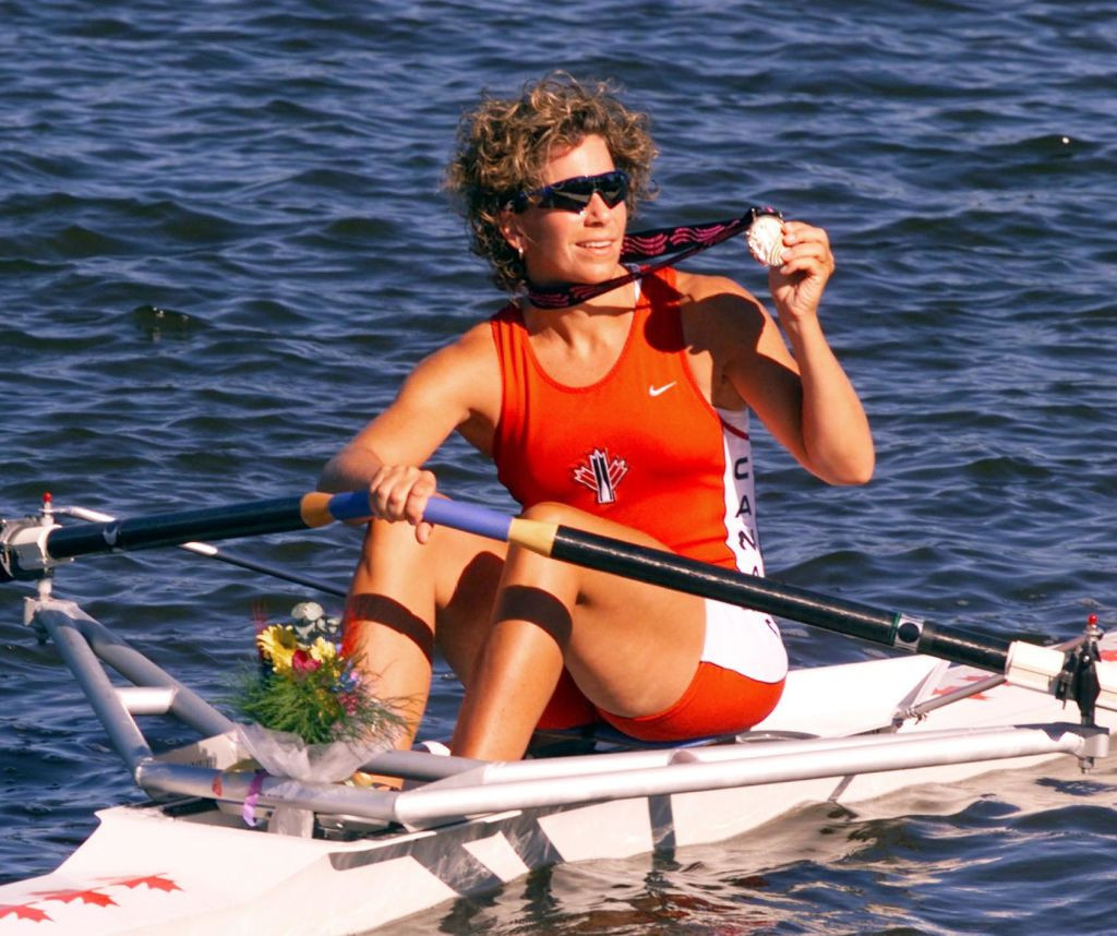Canada's three-time Olympic rowing gold medallist Marnie McBean, Chef de Mission for Tokyo 2020, has said deliberating over Rule 50 will be the hardest thing she has to do in her new role ©Getty Images