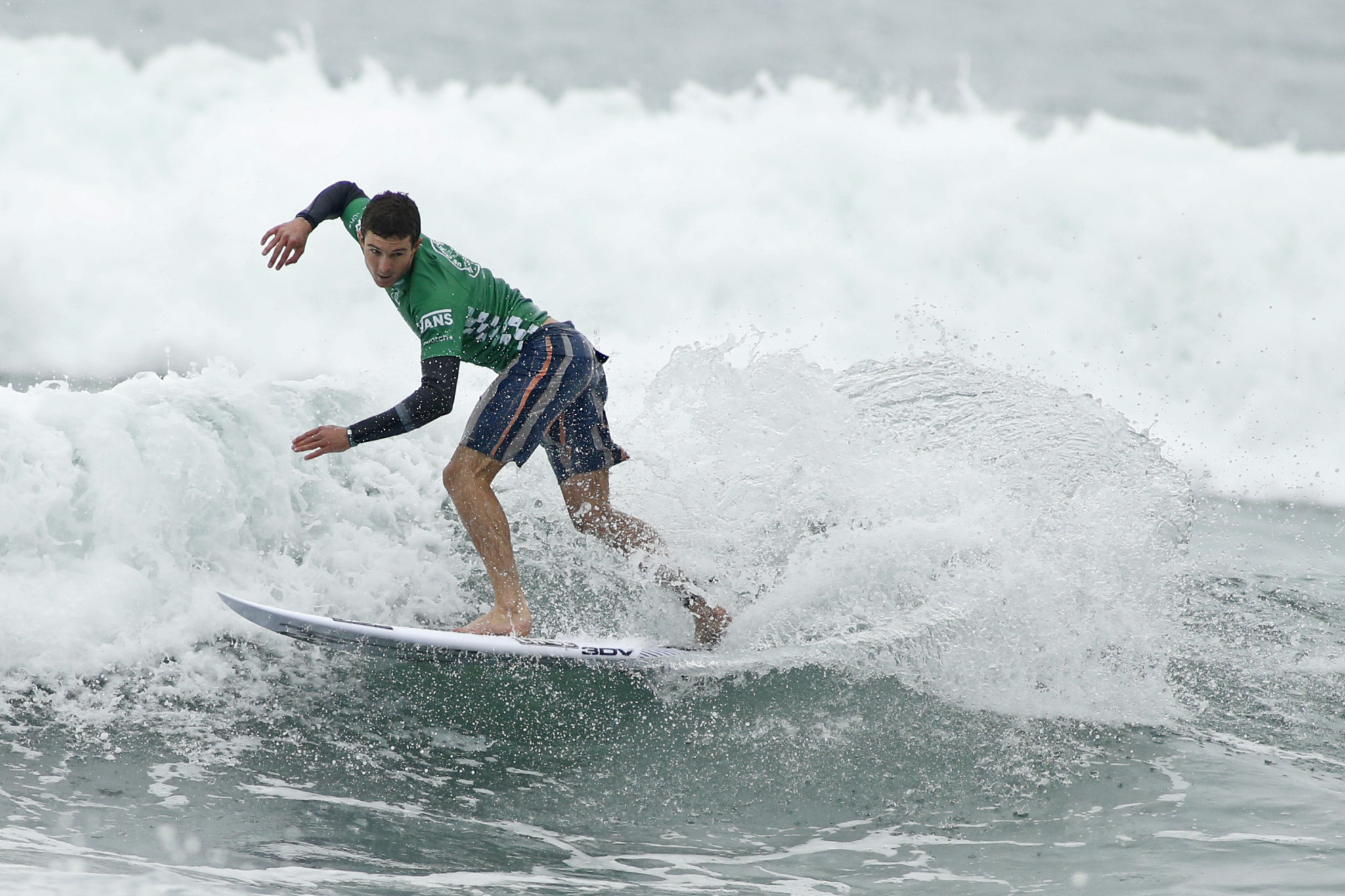 Liam O'Brien beat Miguel Pupo to advance to the semi-finals in Rottnest Island ©Getty Images