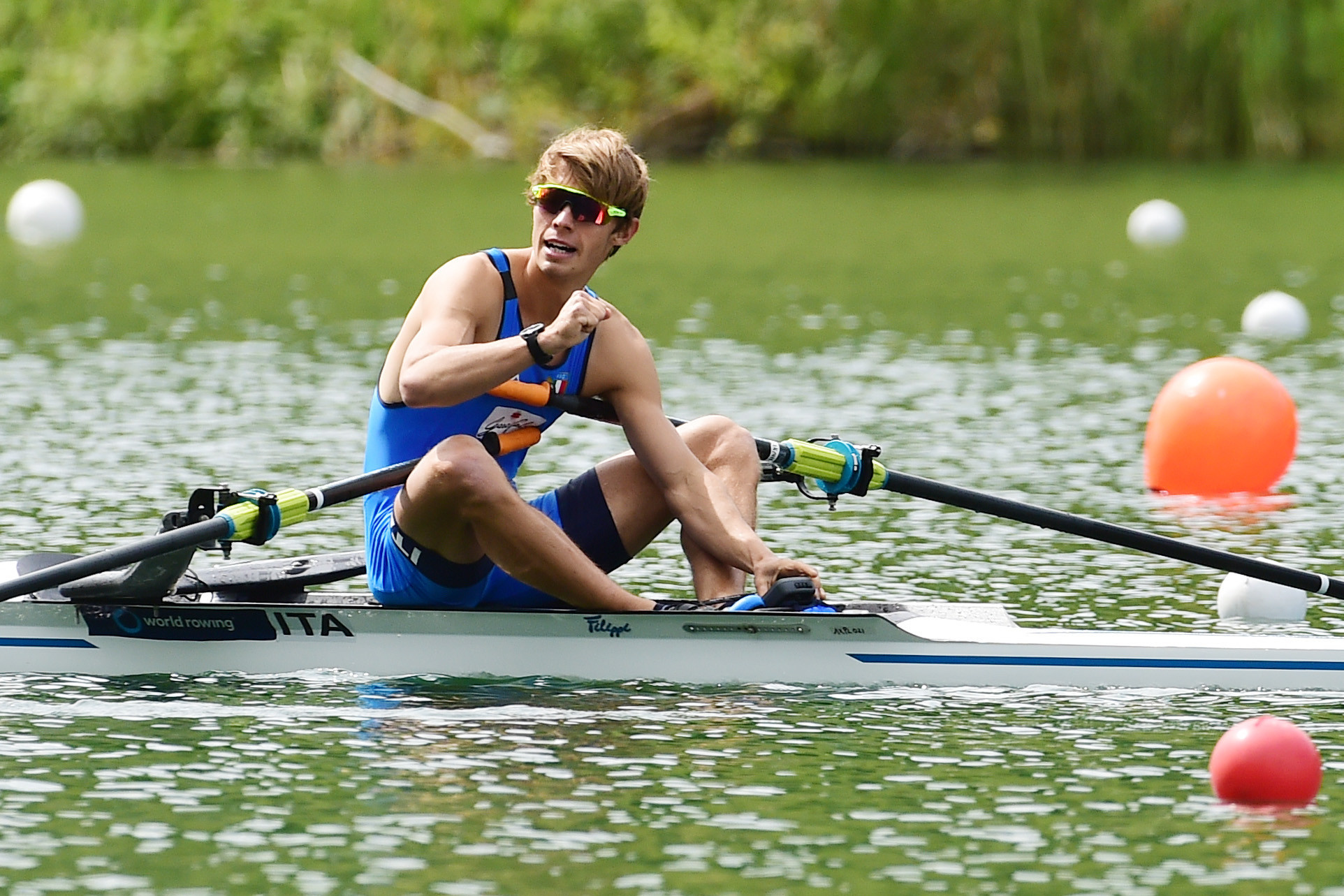 Li and Torre enjoy Lucerne success with Rowing World Cup golds