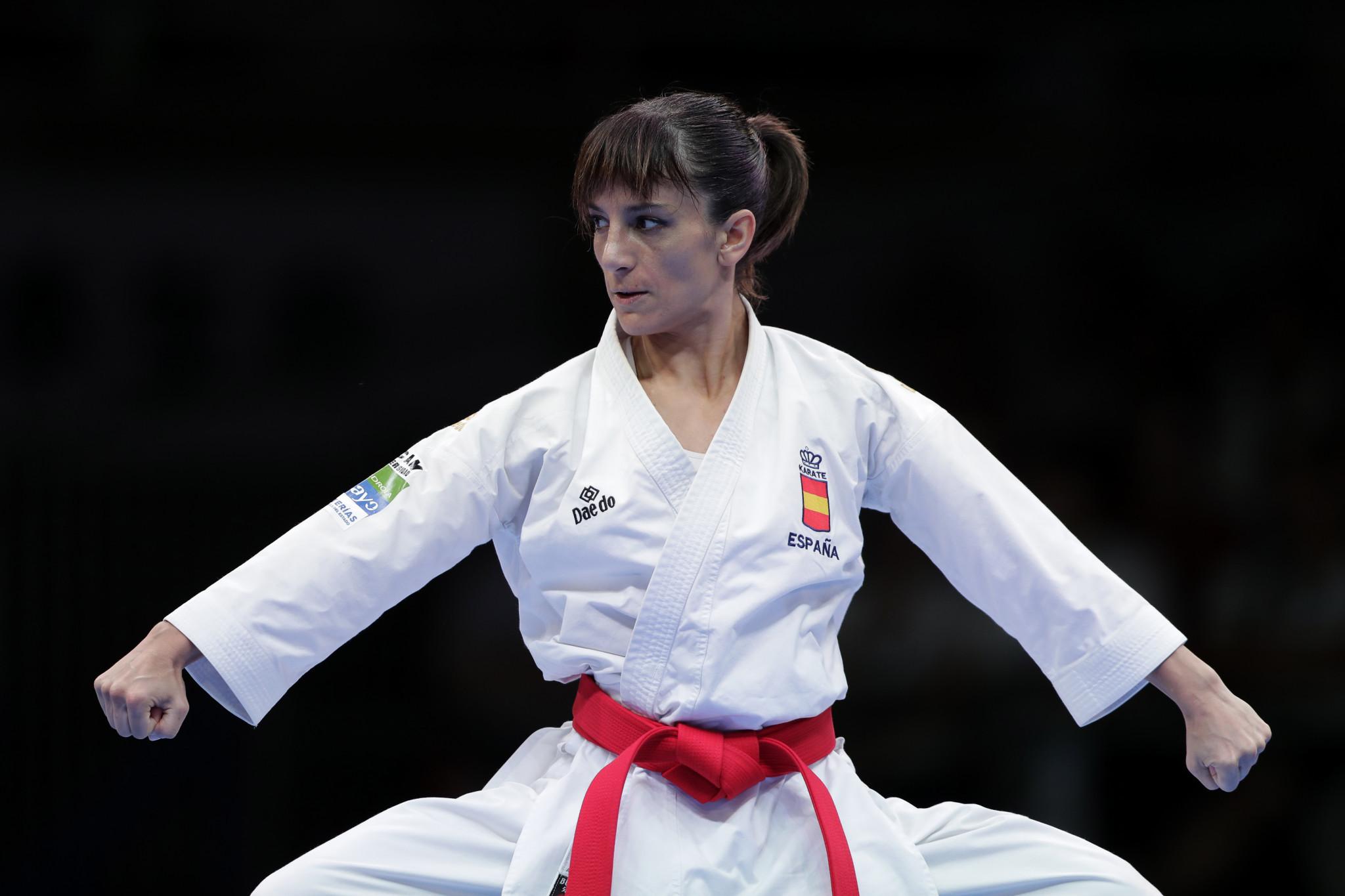 Sánchez wins sixth consecutive kata title at European Karate Championships