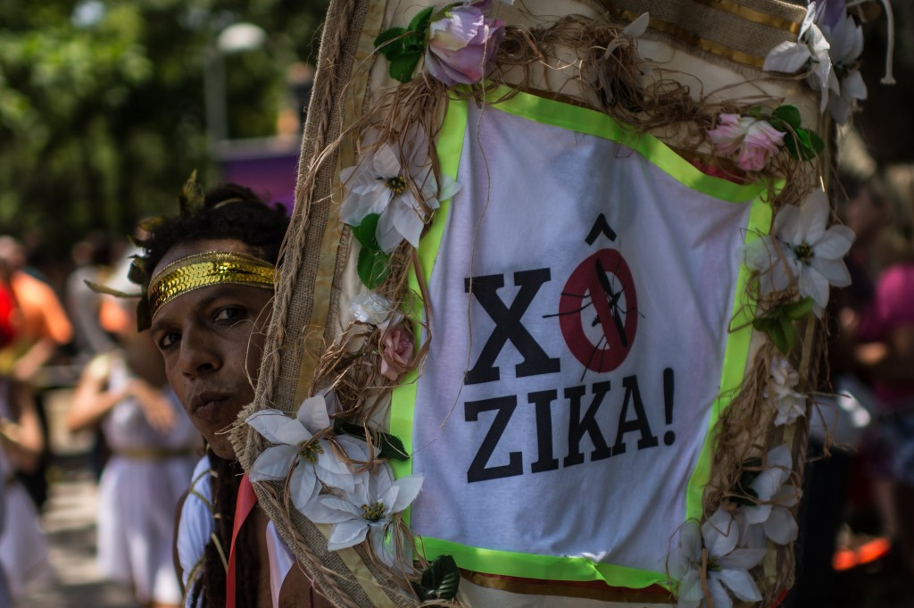 Awareness of the Zika virus is being spread during Brazil's carnival celebrations ©Getty Images