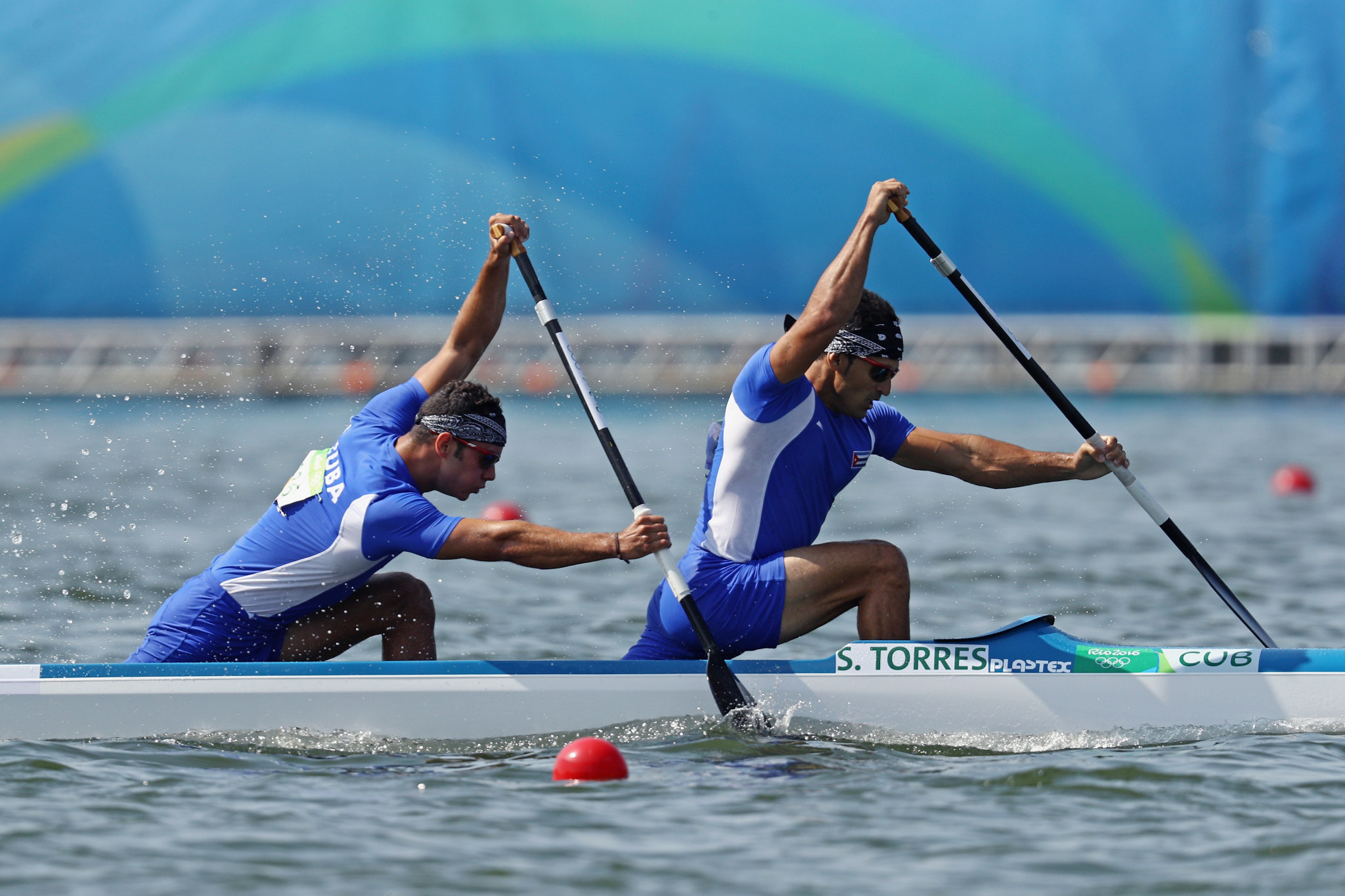 Serguey Torres and Fernando Dayan Jorge secured one of Cuba's five gold medals in Barnaul ©Getty Images