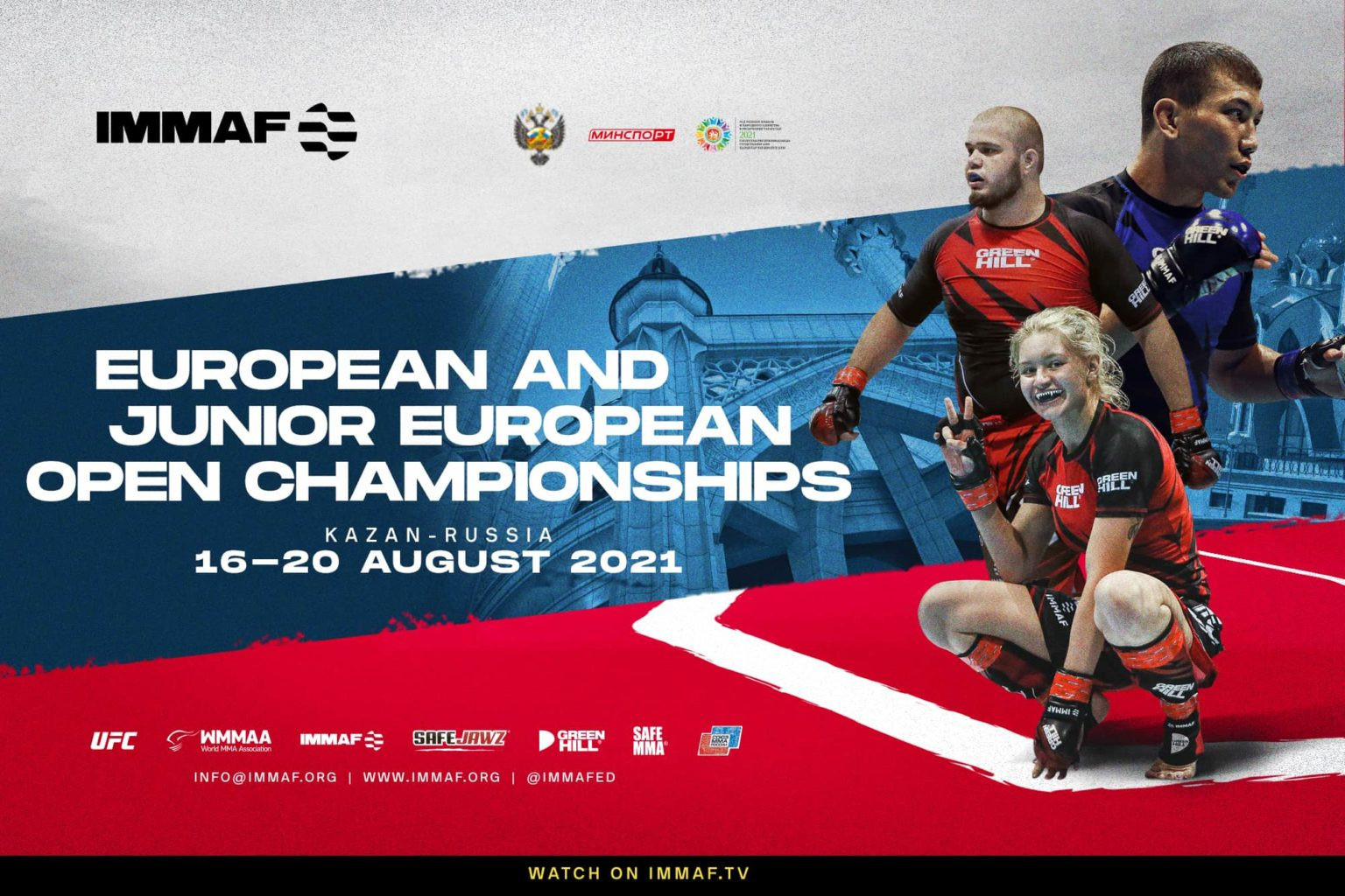 Athlete registration for the IMMAF Senior and Junior European Open Championships has opened ©IMMAF