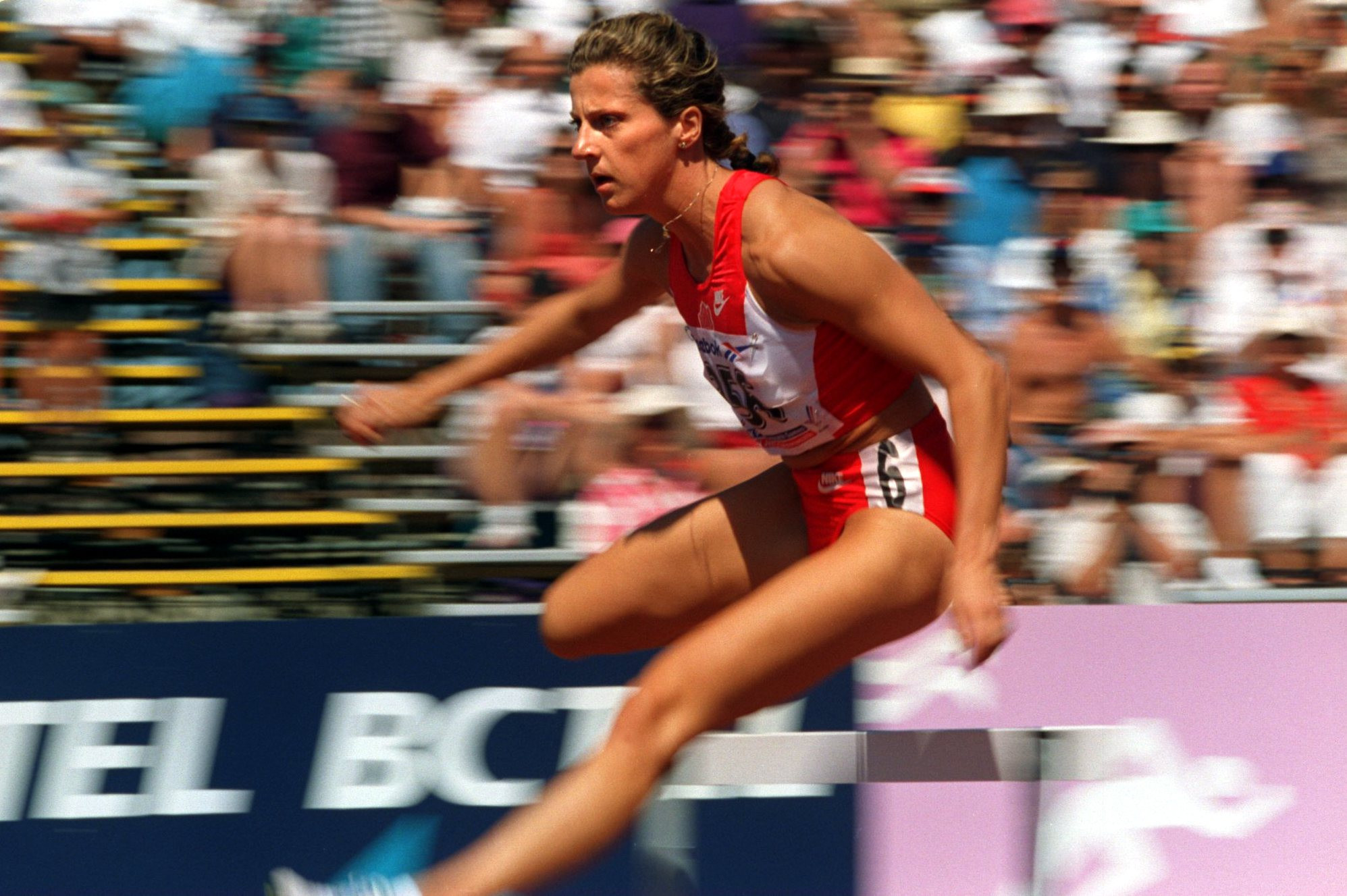 Sally Gunnell transitioned from the sprint hurdles to 400 metres ©Getty Images