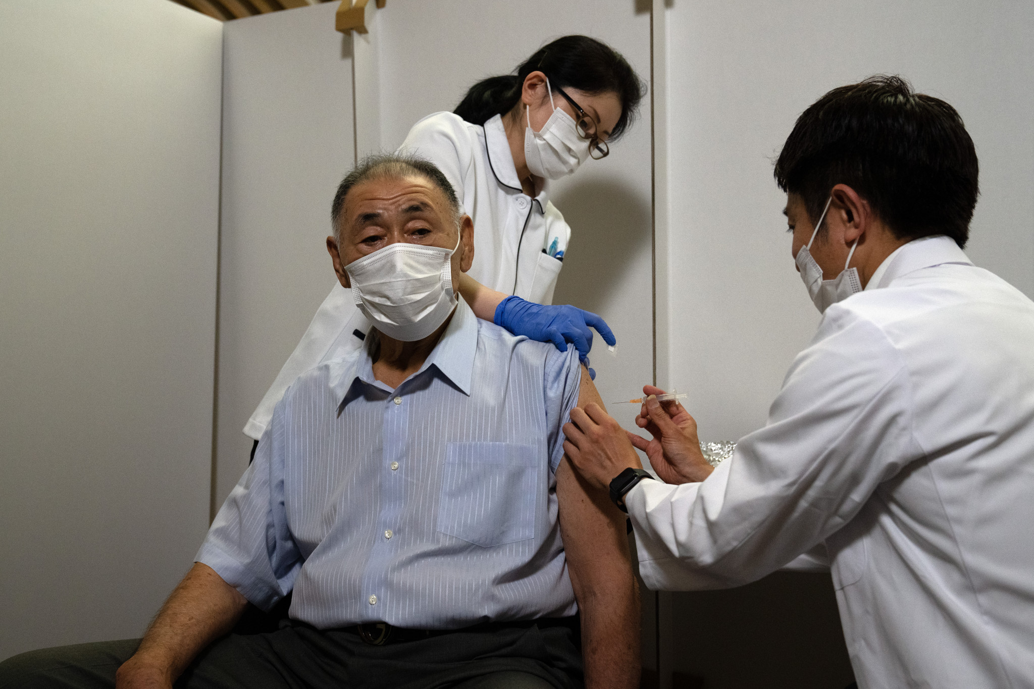 Mass vaccination centre opens in Tokyo 60 days before Olympics