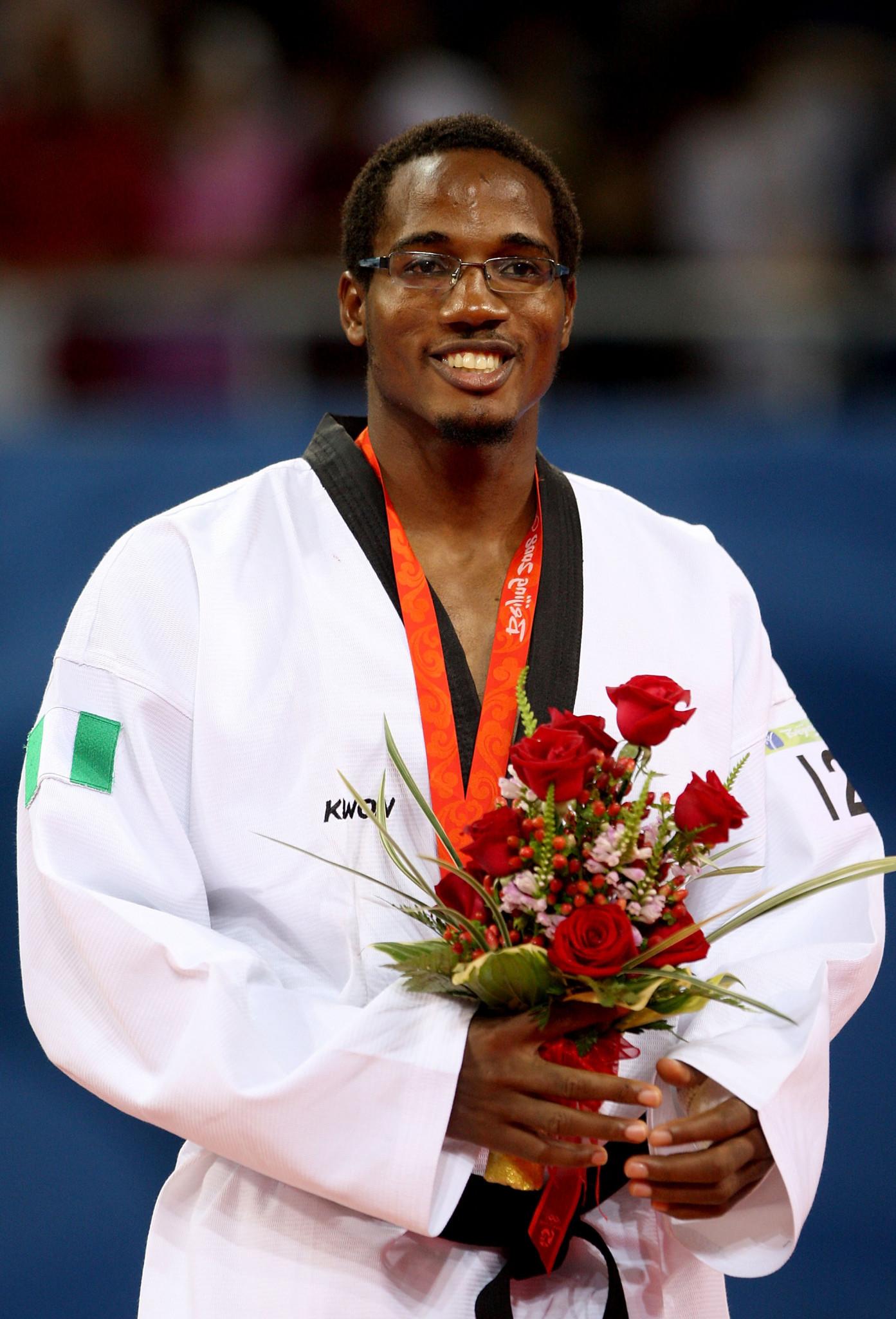 Olympic bronze medallist Chika Chukwumerije organised Elizabeth Anyanacho's training camp ©Getty Images